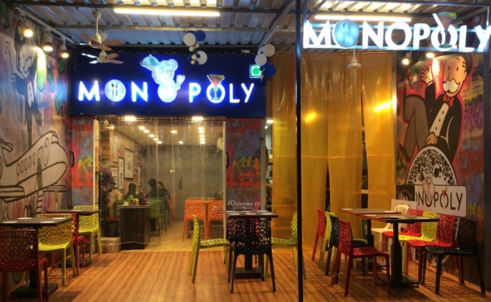 Borivali has a Monopoly Themed Restaurant and it takes you back in Time. image