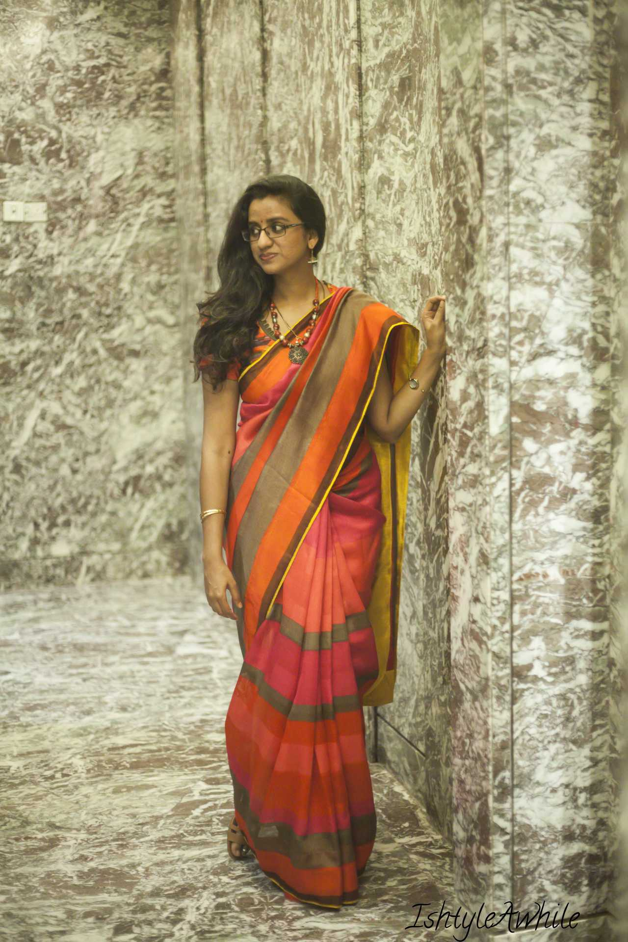 IshtyleAwhile - how to rewear a sari