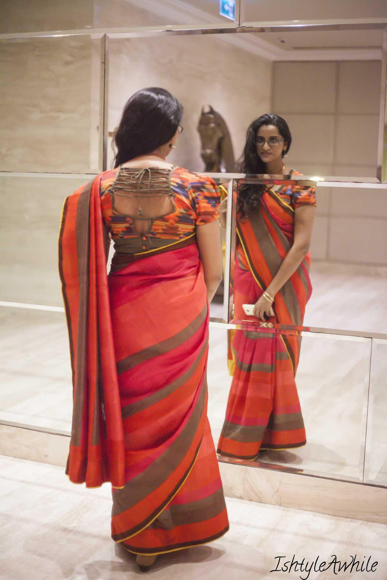 IshtyleAwhile - 100 saree pact