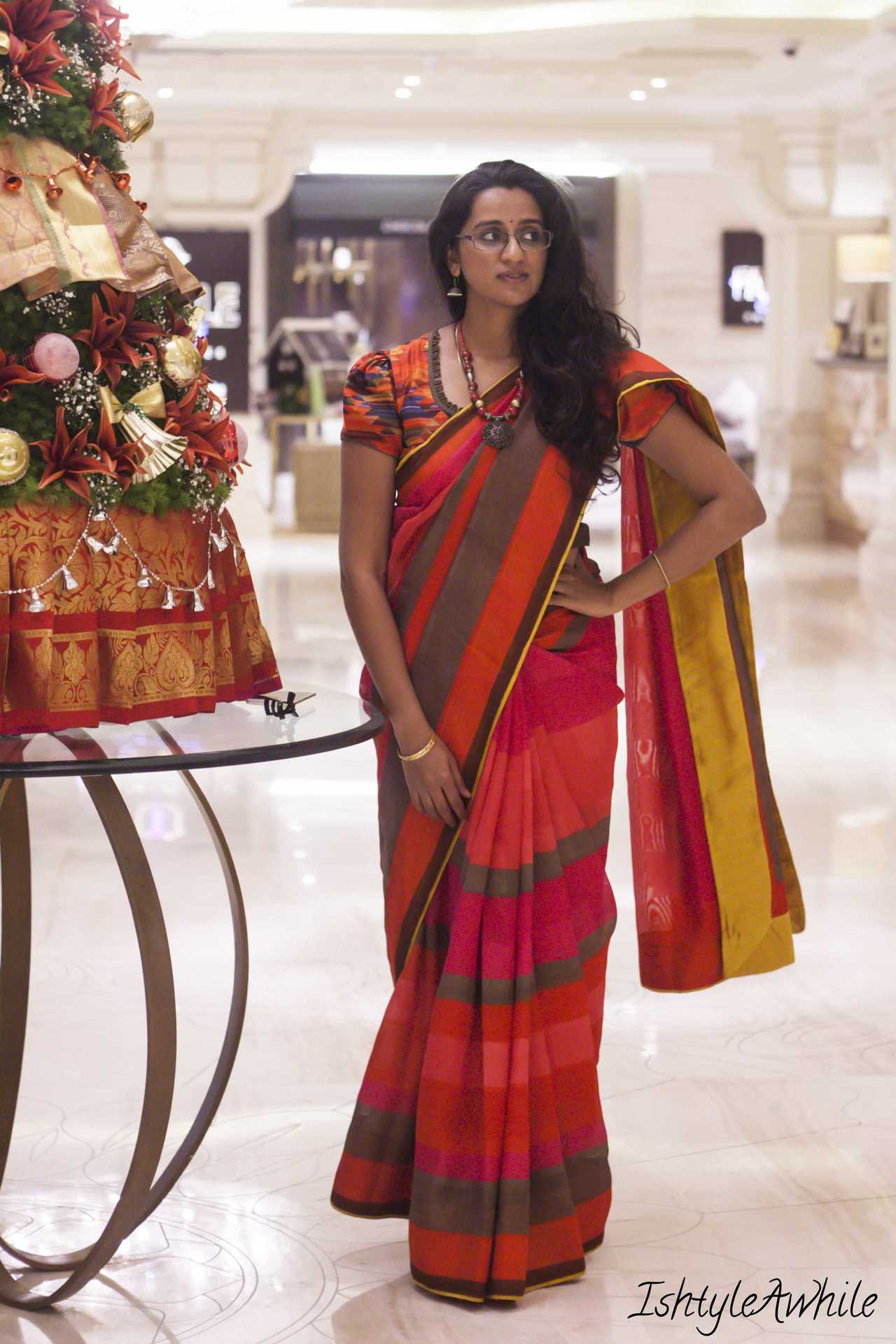 IshtyleAwhile - sari styling by ishtyleawhile