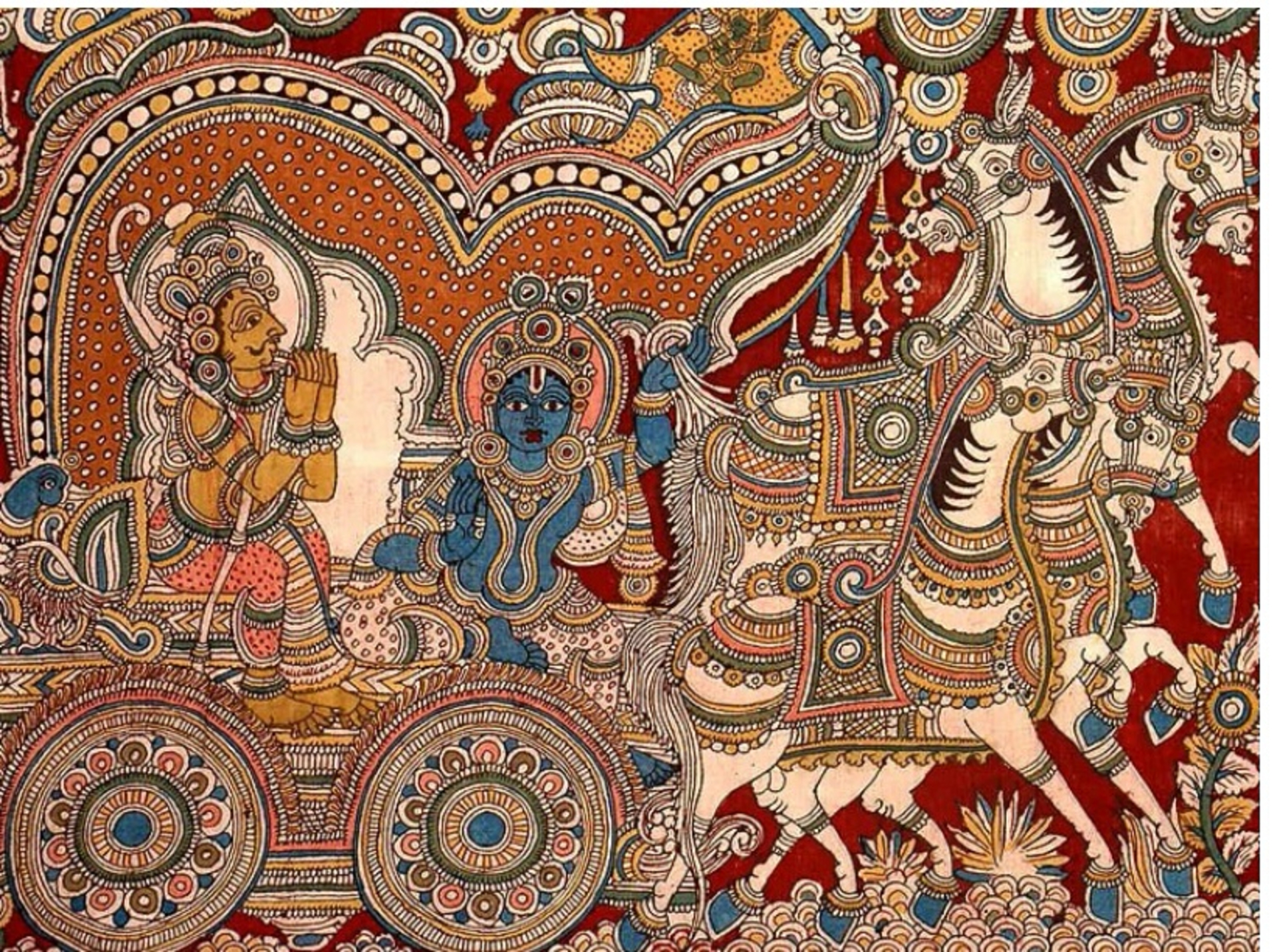 Reviving the kalamkari handwork image
