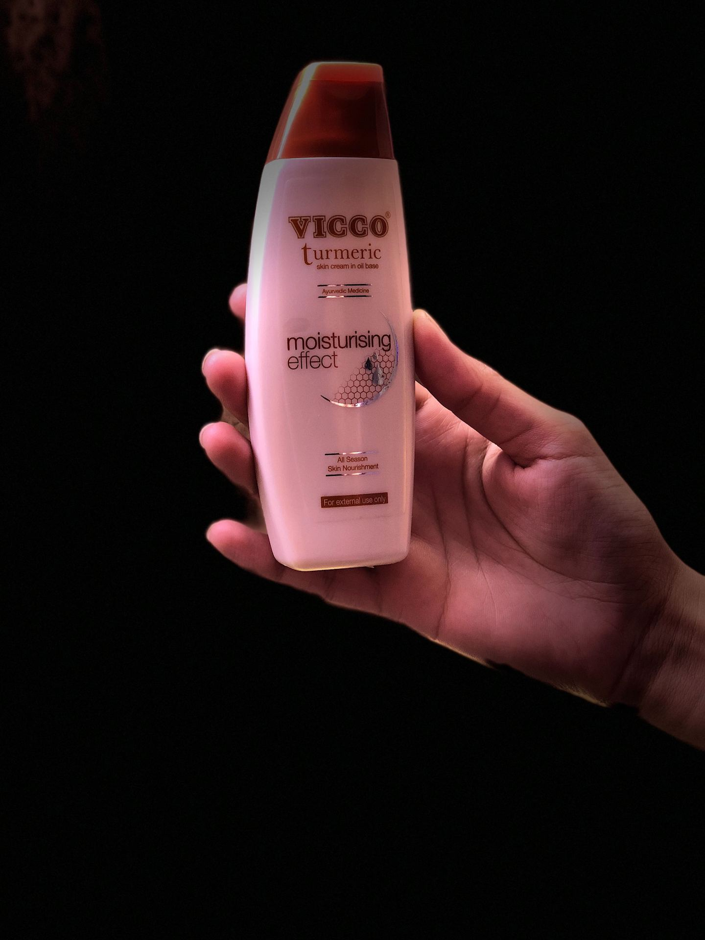 Vicco Turmeric Skin Cream In Oil Base.  image