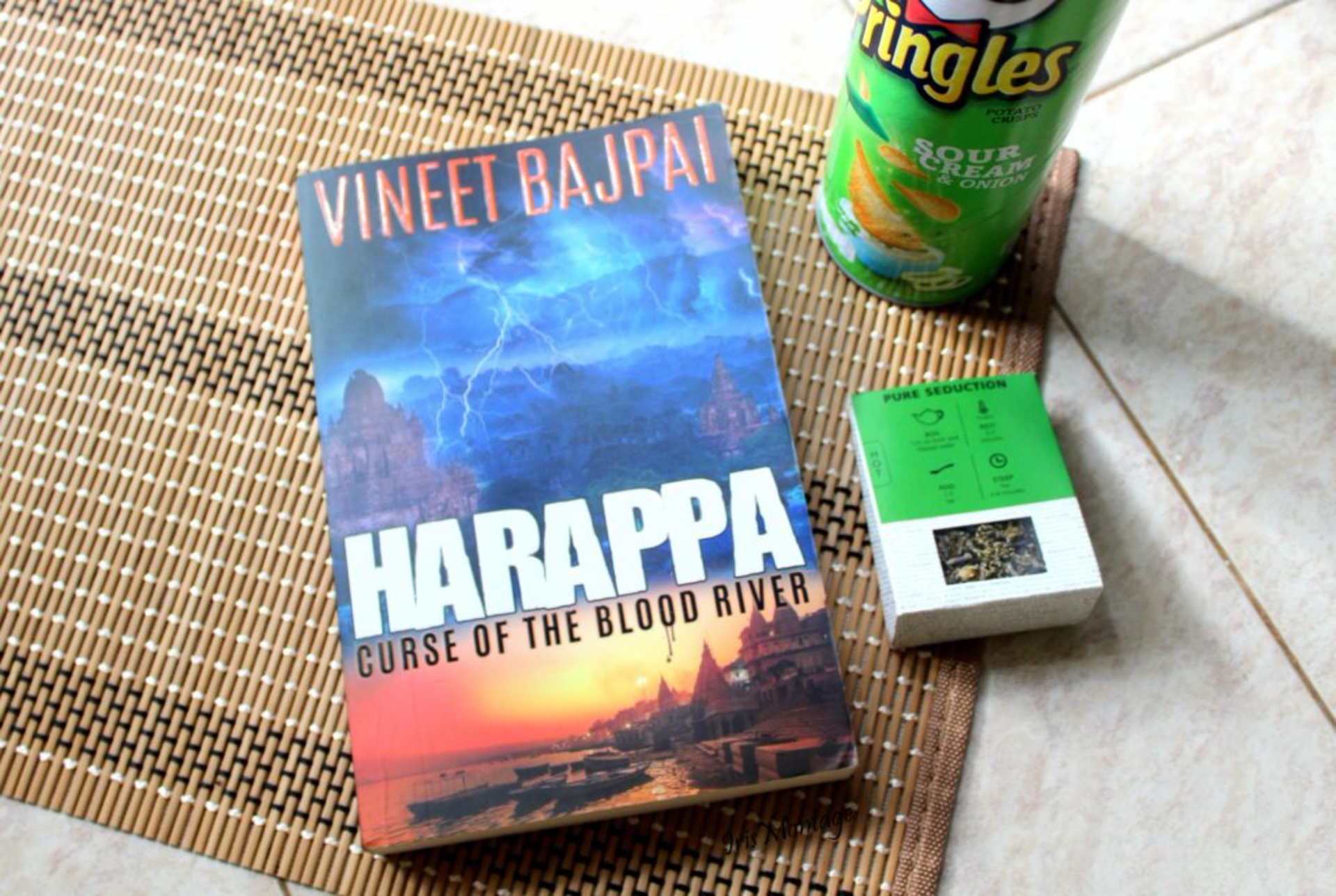 Harappa, Curse of the Blood River by Vineet Bajpai image