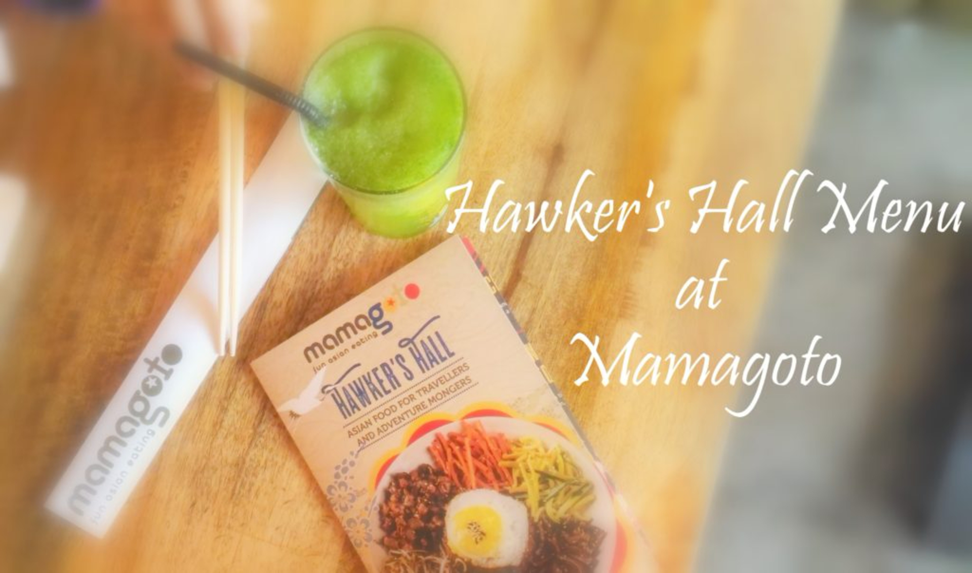 Hawkers Hall Menu, Mamagoto image