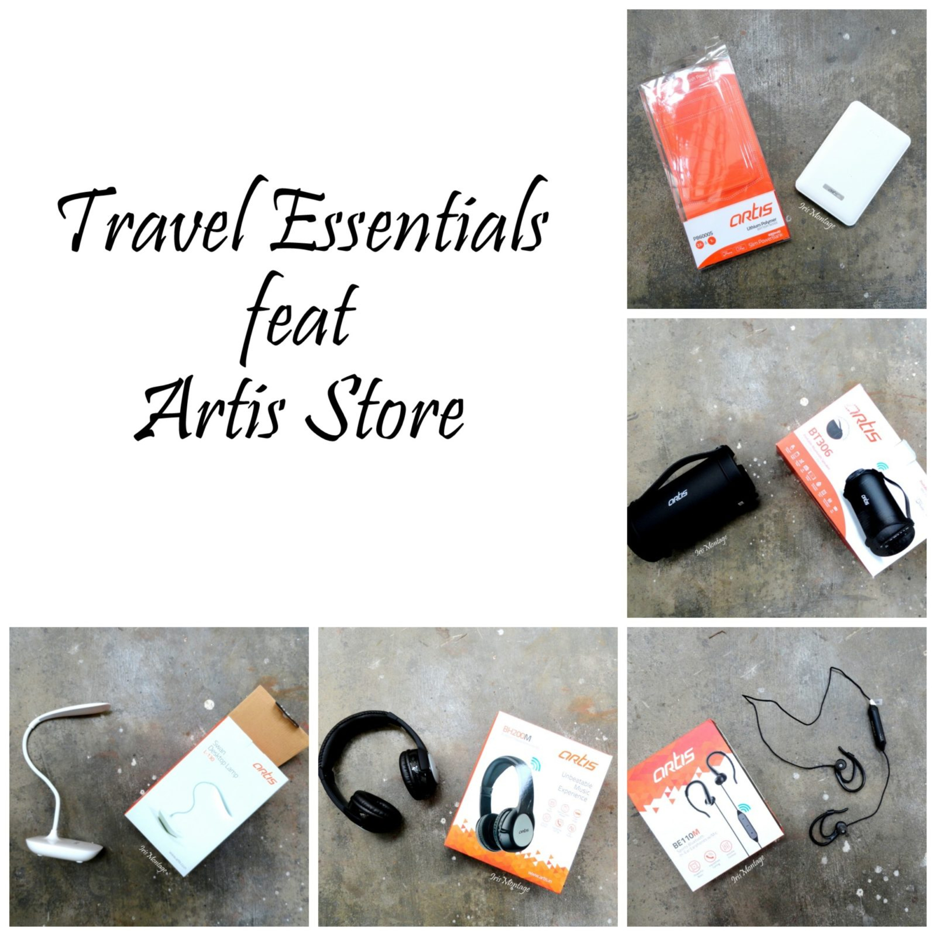 Travel Essentials for all your Travel needs feat Artis Store image