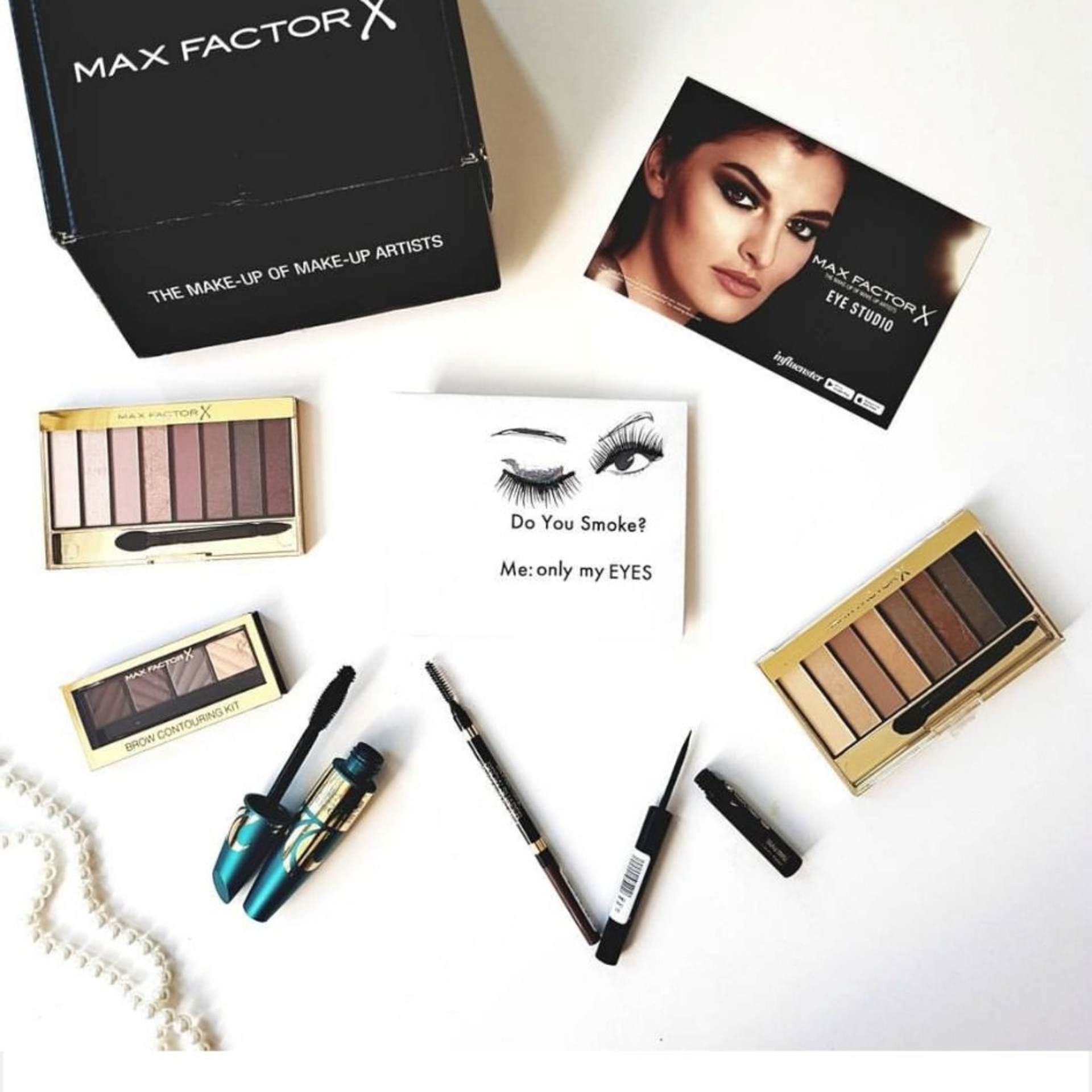 Conquering the world with MaxFactor Eye Studio! image