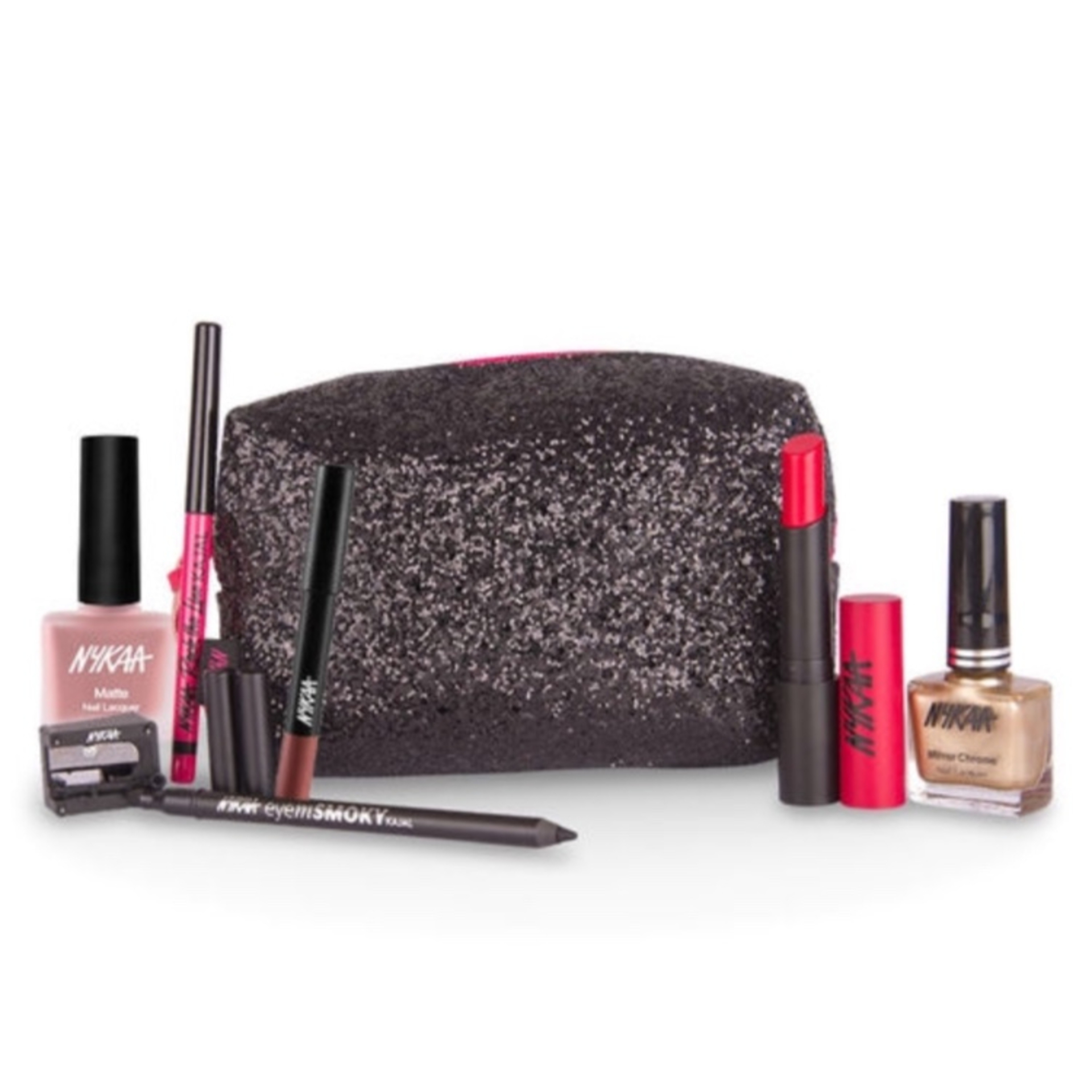 THE GLAM NUT - Nykaa-cocktail-night-glam-combo