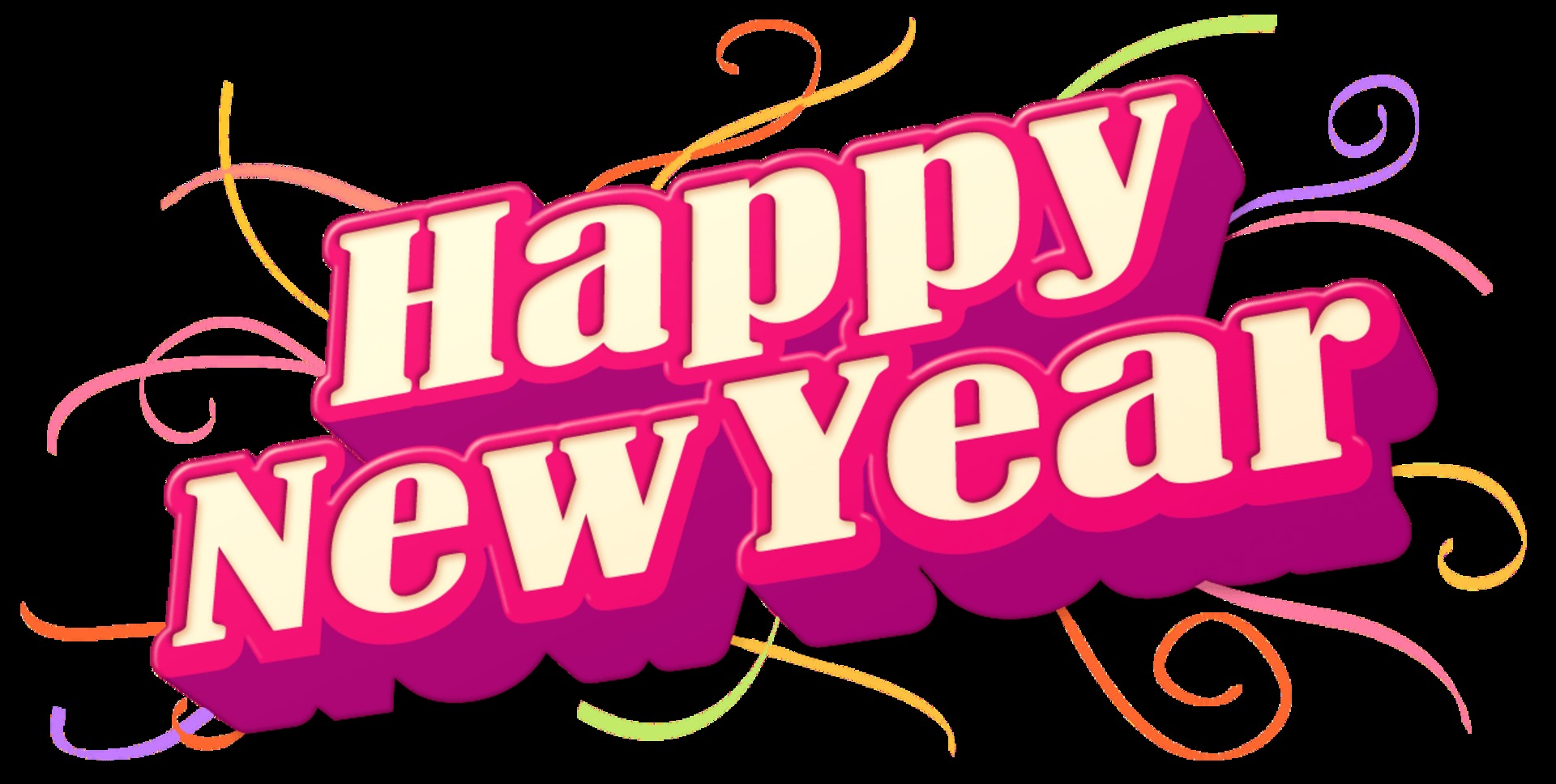 Wishes Quotes & Text Messages - Happy-New-Year-PNG-Picture