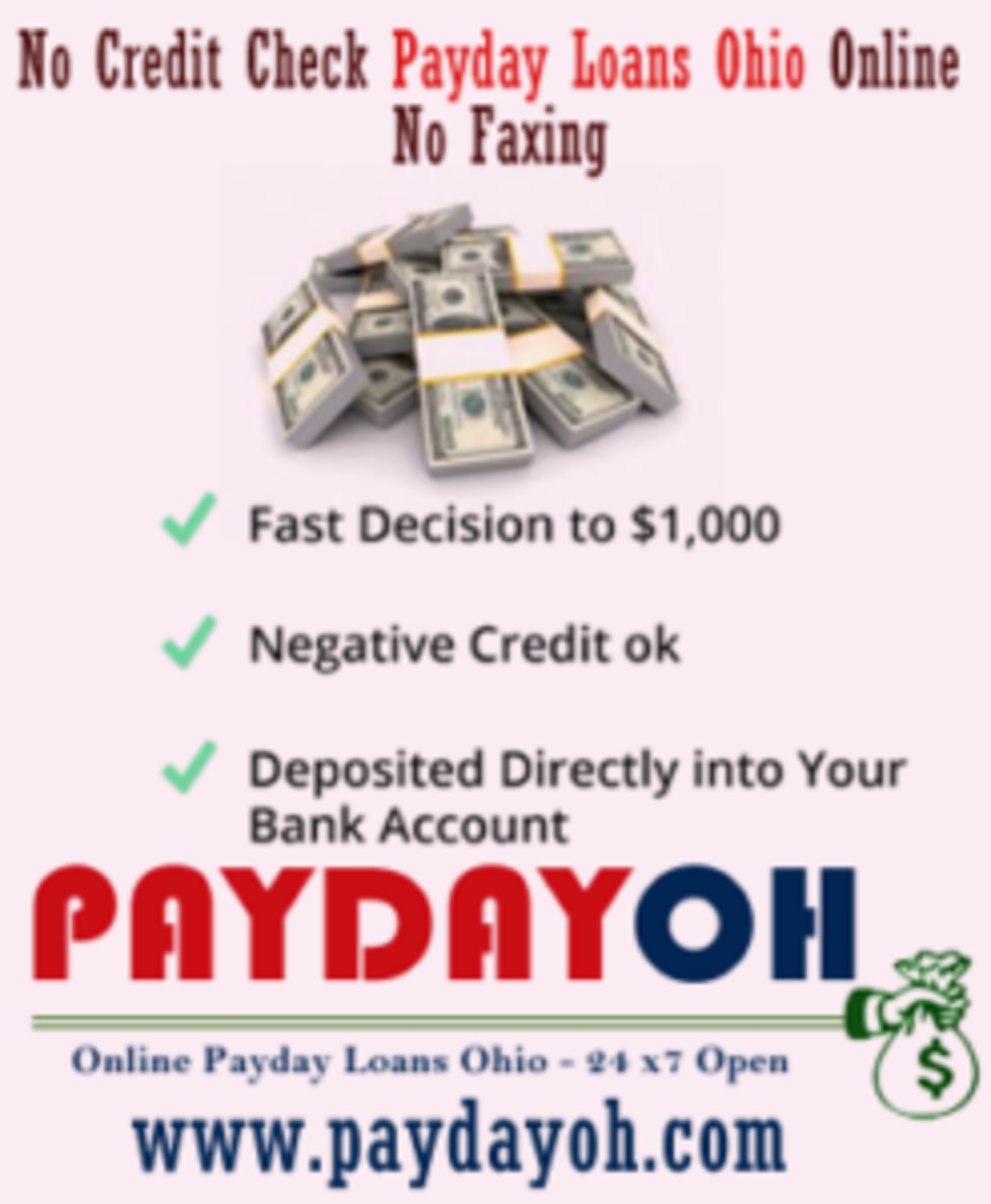 Payday Loans With Easy Approval