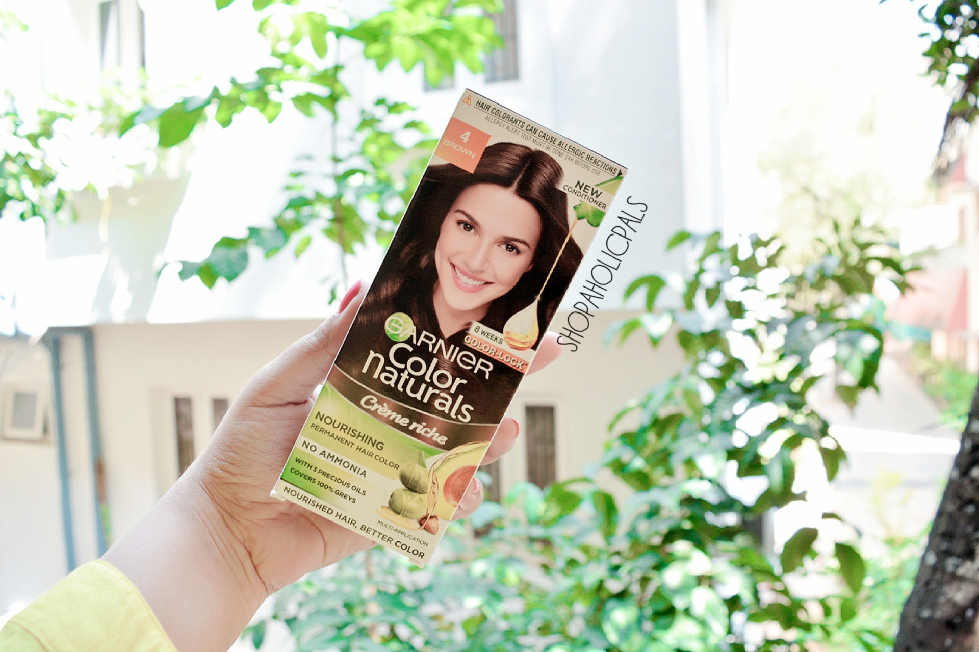 New Launch | Garnier Color Naturals Creme Rich Hair Color Review image