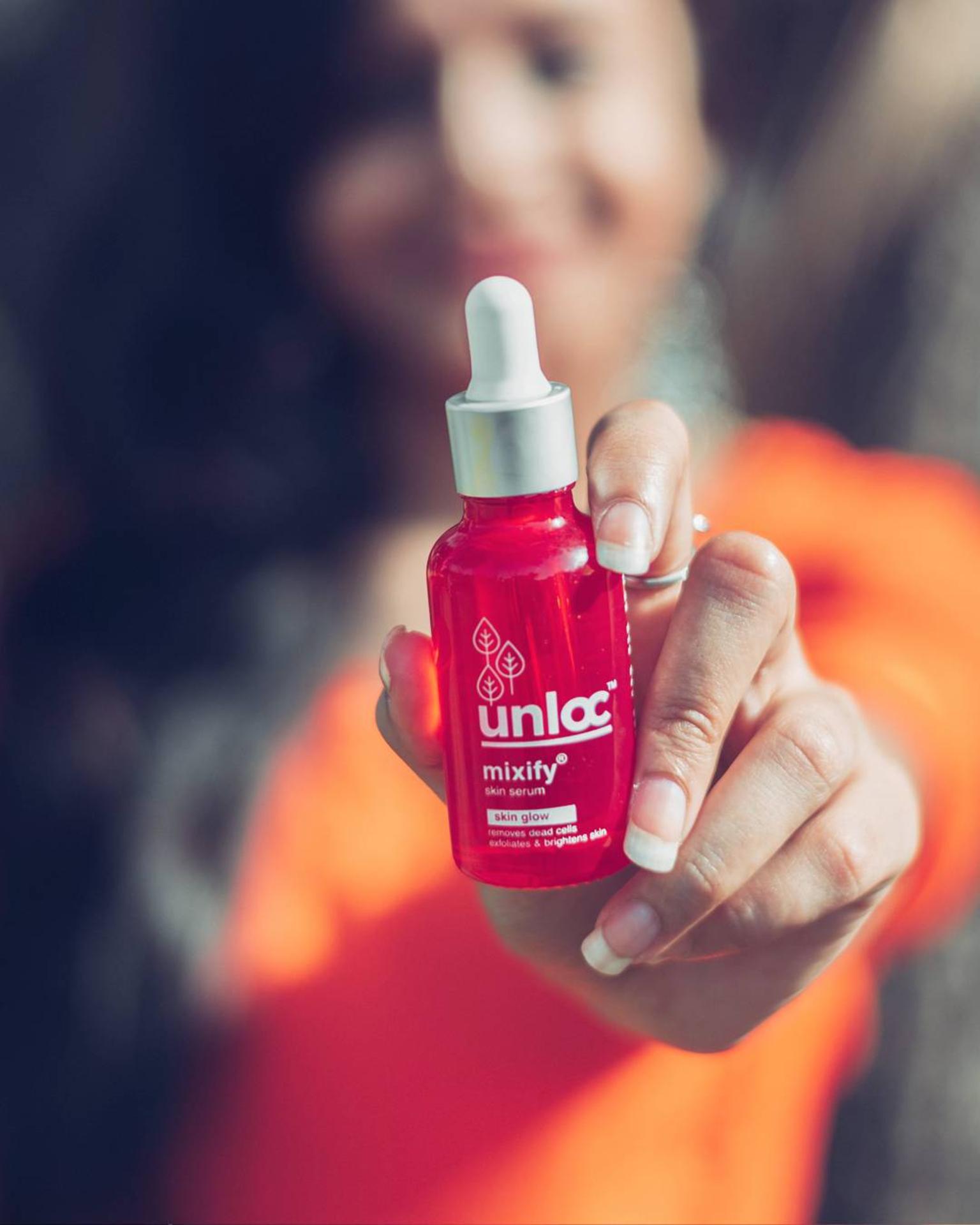 Unloc Mixify Skin Glow Serum Review  image