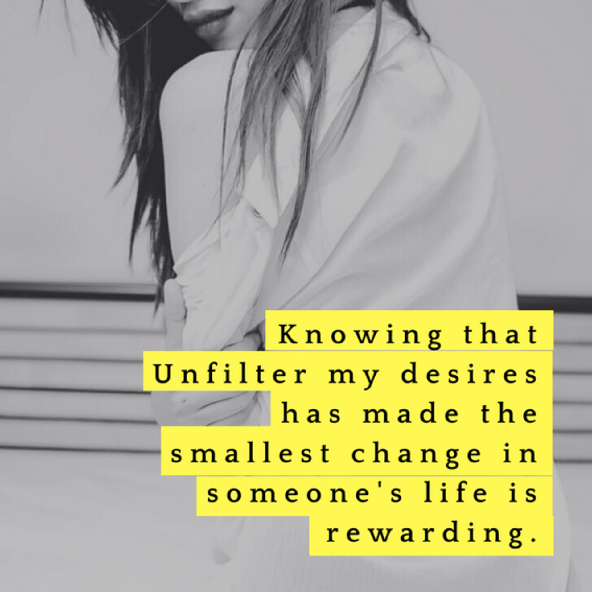 Winkl Blog - Tips & Learnings for Content Creators & Influencers - Knowing that UnfilterMyDesires has made the smallest change in someone's life is rewarding