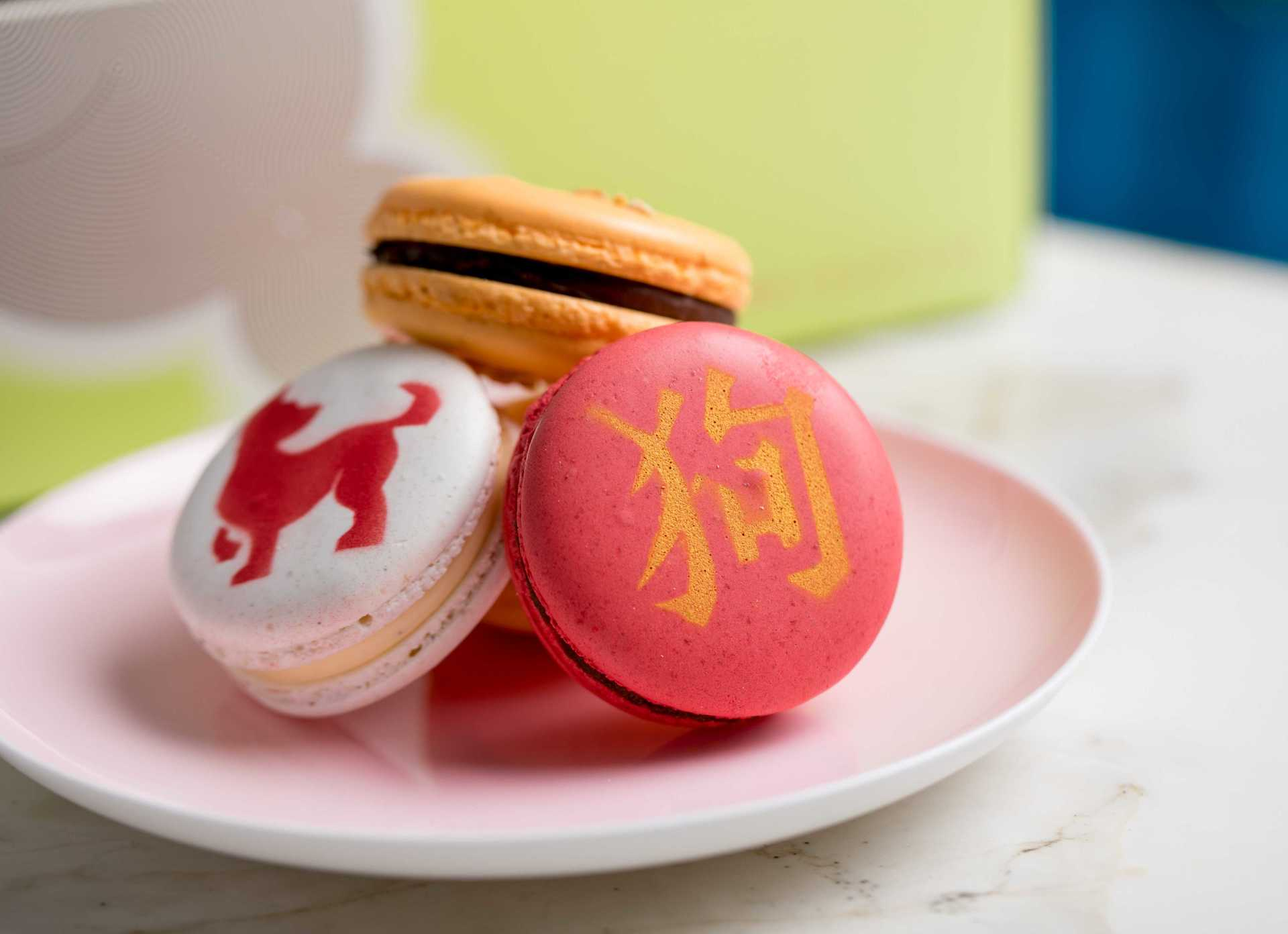 All Things Sassy - CNY macarons 3