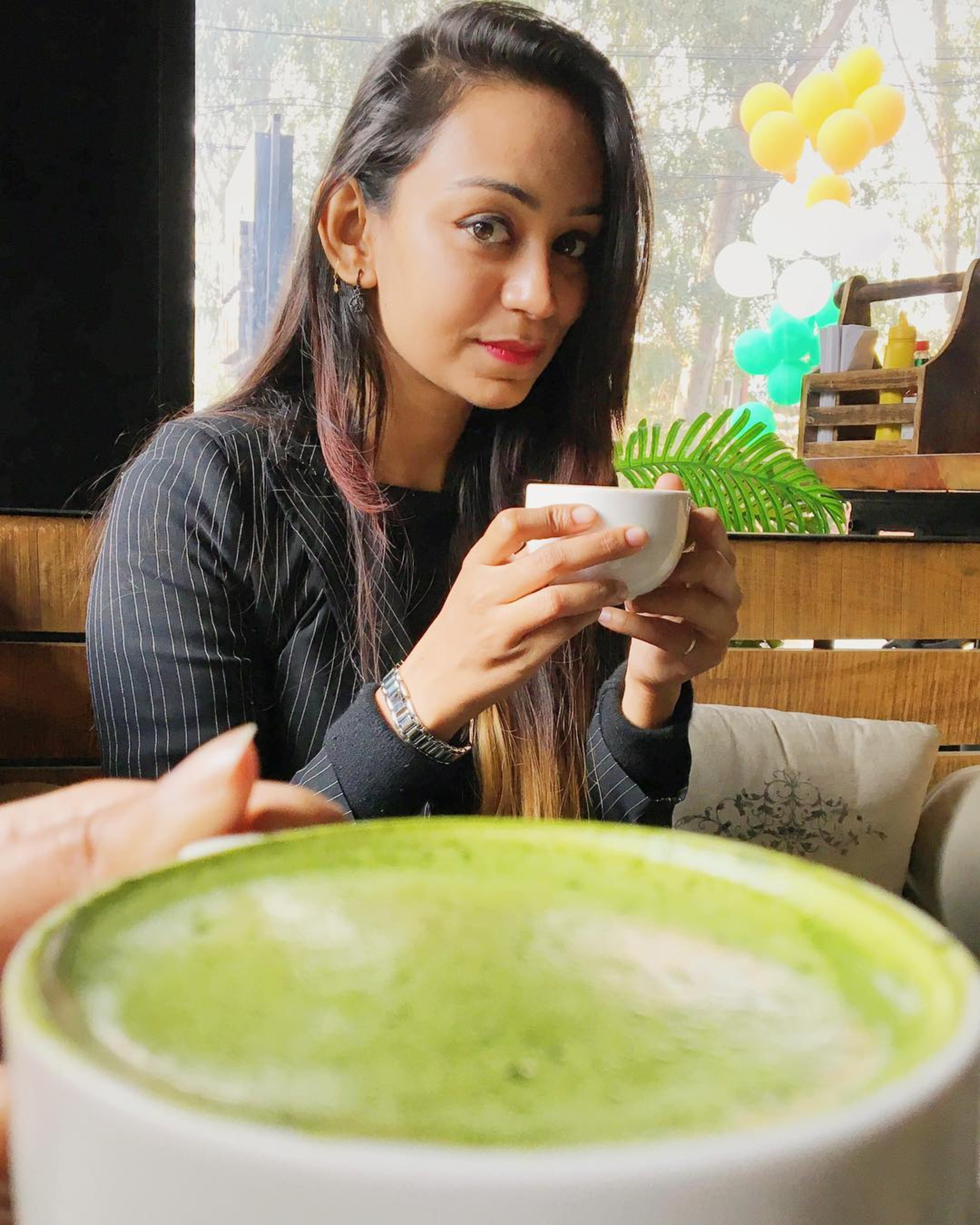 Sarah Zarein Raza - Japanese Macha Latte