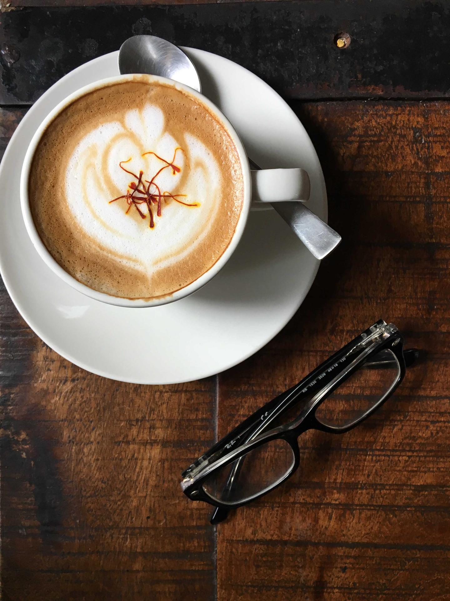 Sarah Zarein Raza - Kashmiri cappuccino
