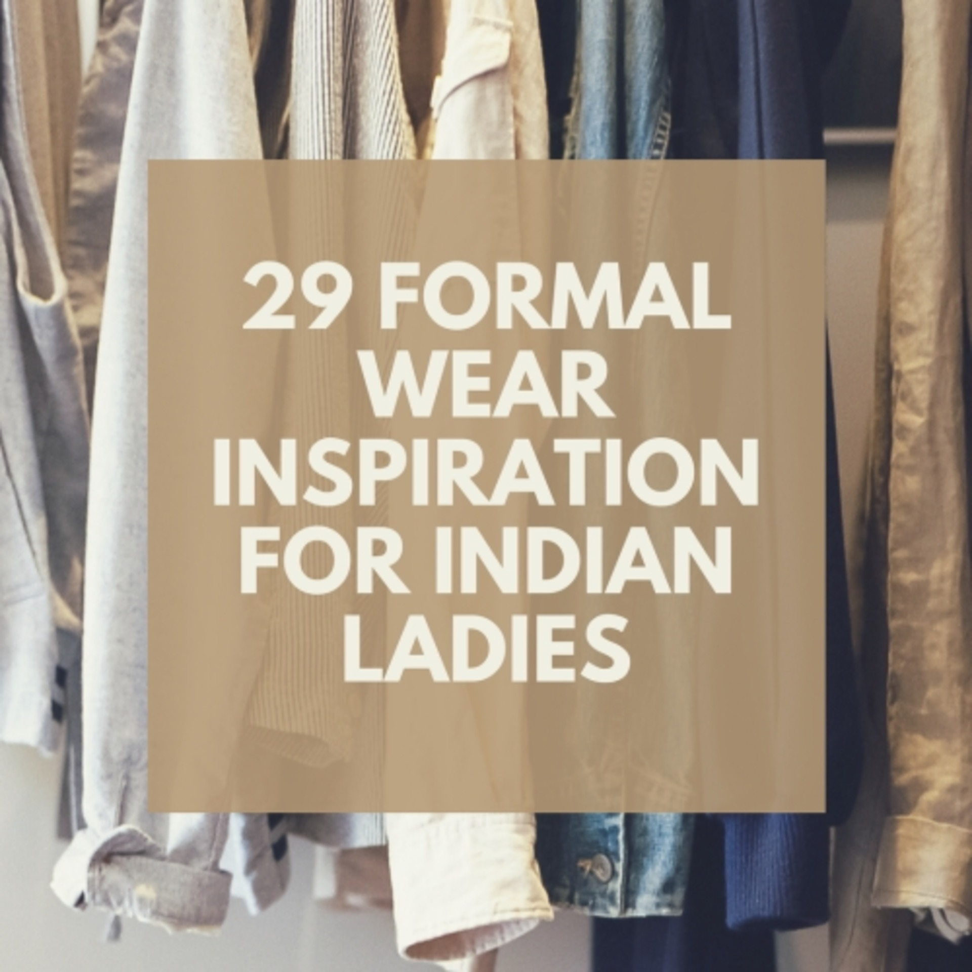 29 Not So Boring Formal Wear Inspiration for Indian Ladies! image