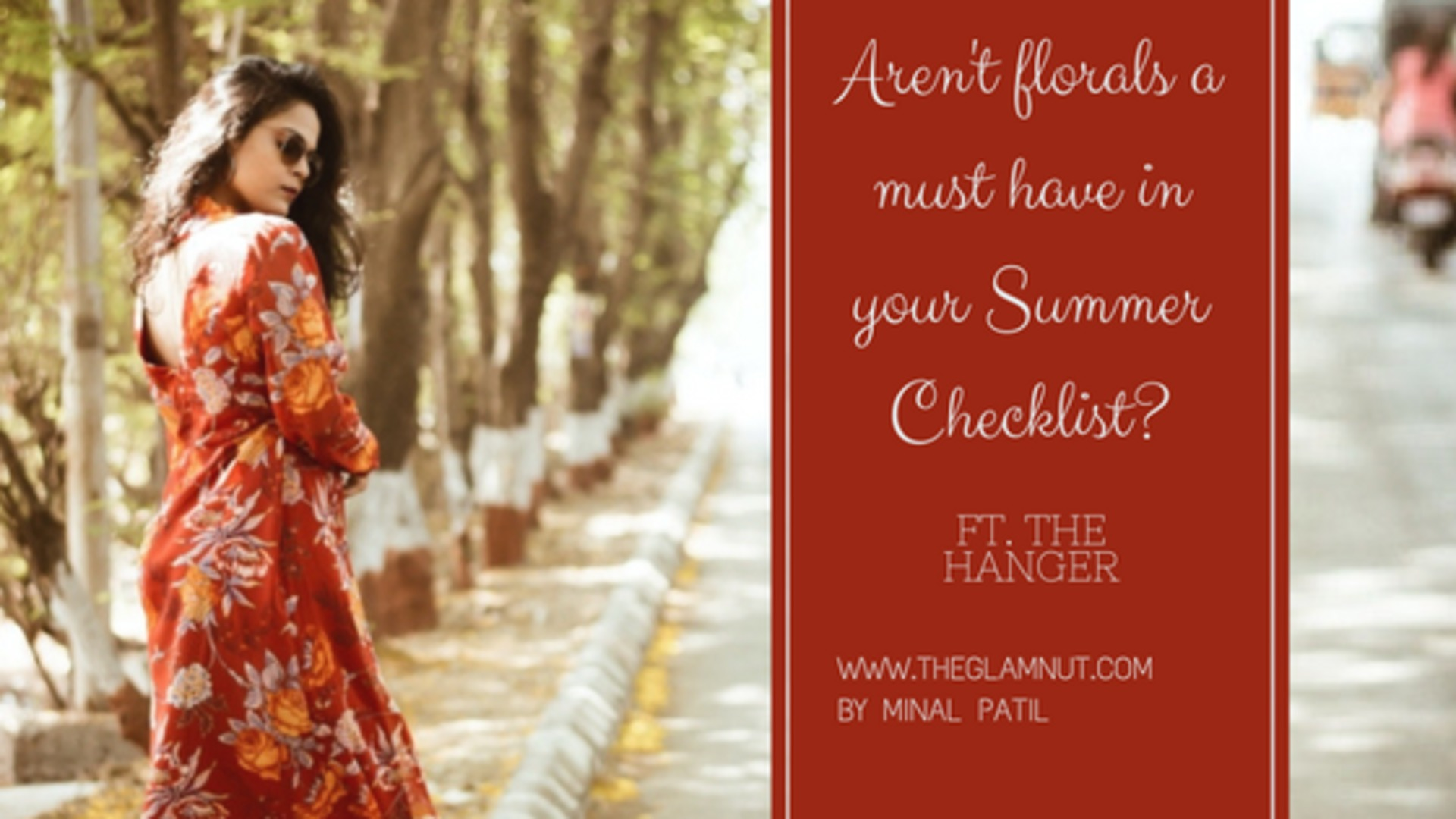 Aren't Florals a must have in your Summer checklist? | Ft. The Hanger image