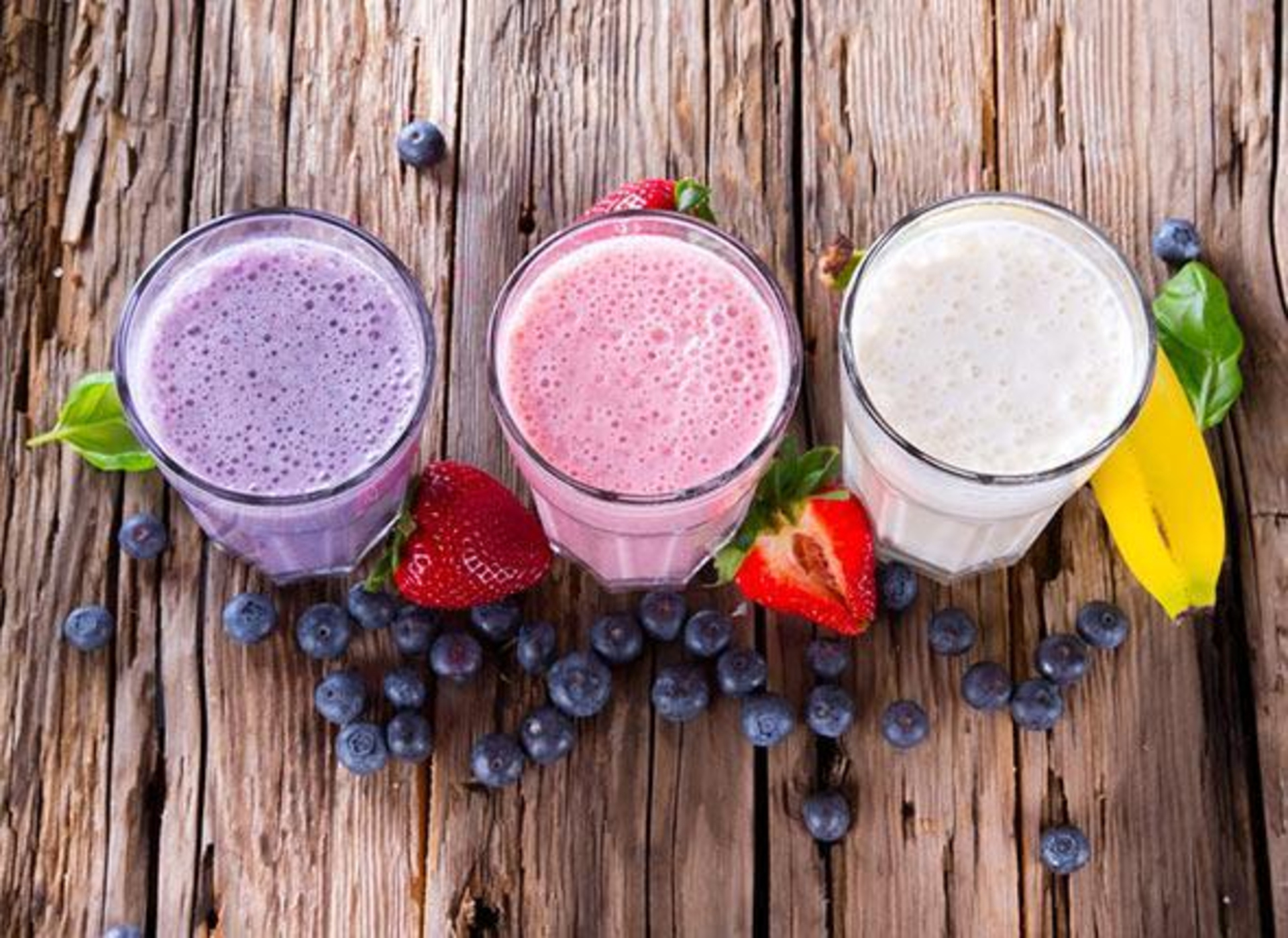 A smoothie a day to keep the doctor away! image
