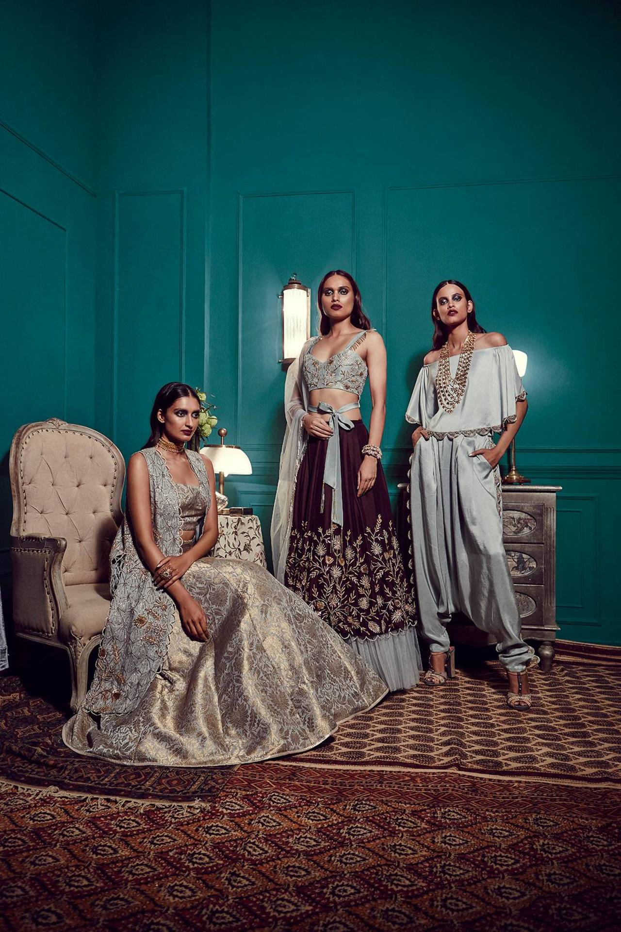 Stand Gorgeous - Payal Singhal Azure collection 2 copy