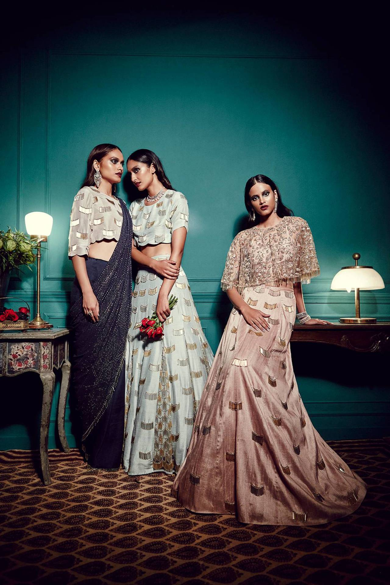 Stand Gorgeous - Payal Singhal Azure collection 3 copy