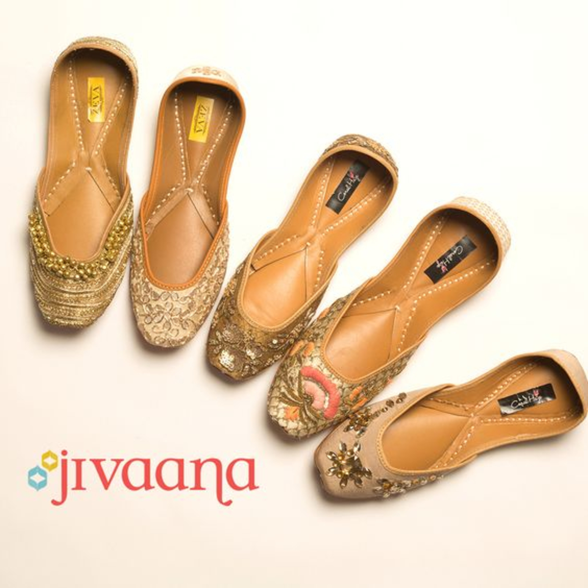 WOMEN FOOTWEAR FOR AN INDIAN WEDDING - FT. JIVAANA.COM image