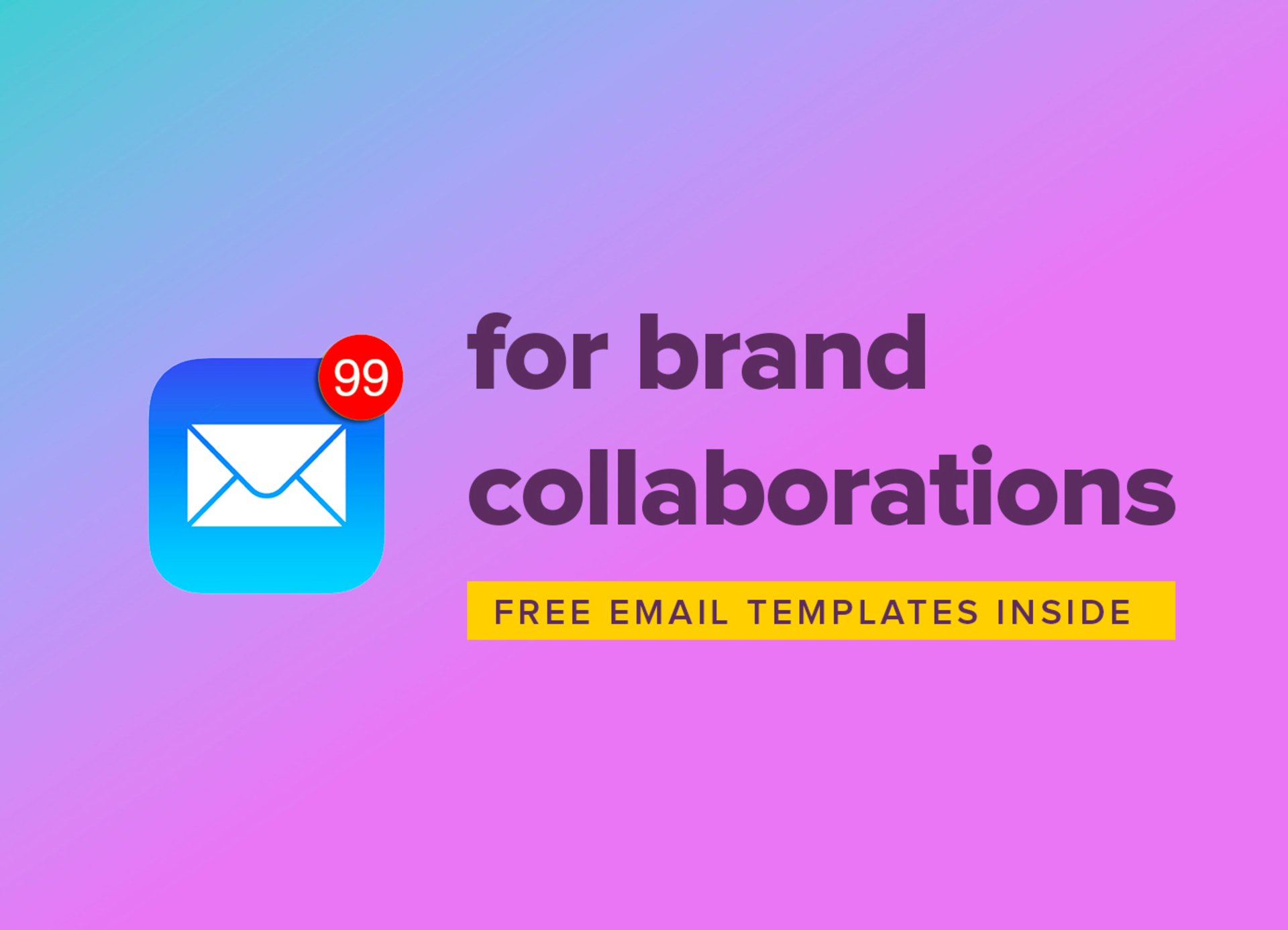 How to email brands for collaborations, and get a reply image