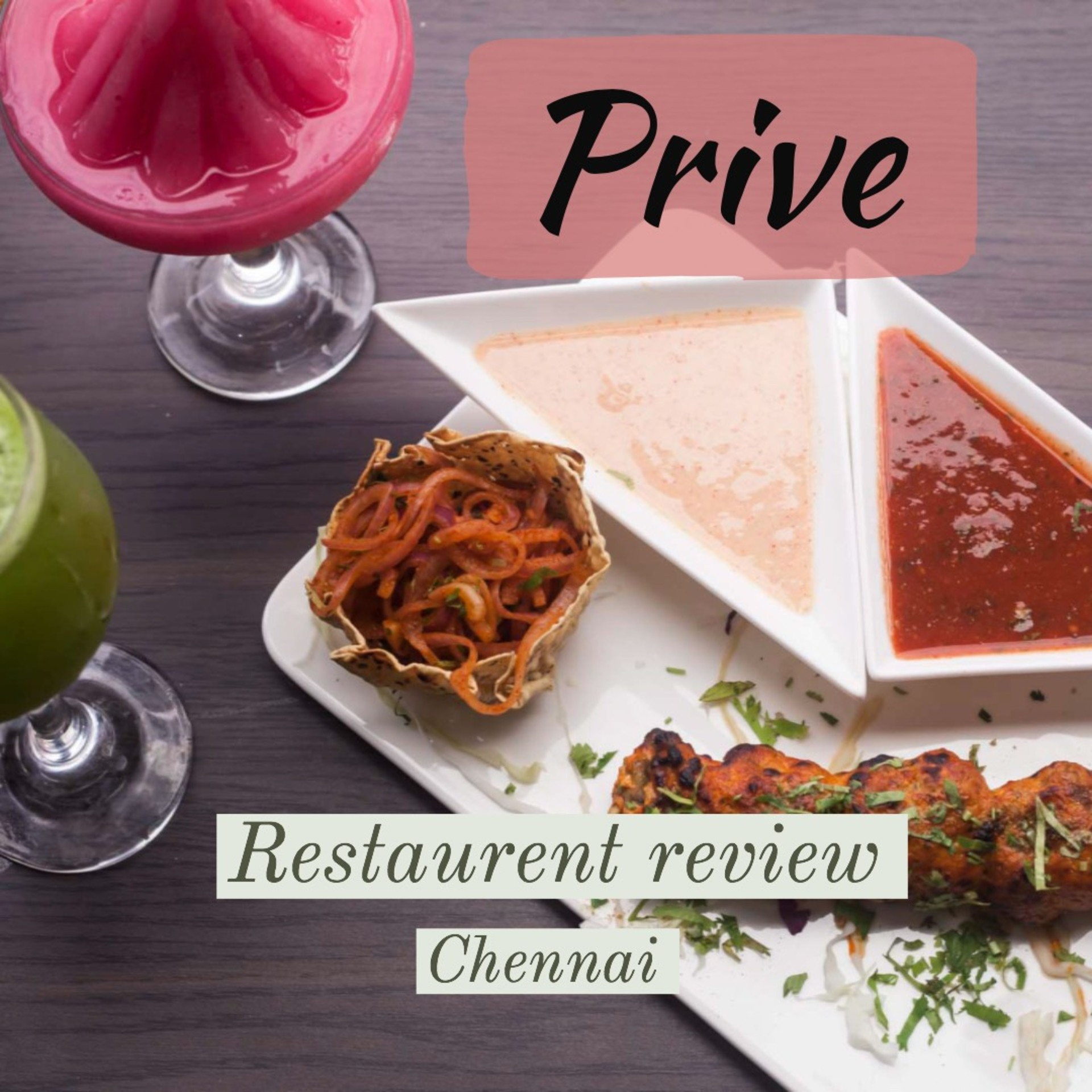 Prive : Vegetarian's Heaven in chennai  image