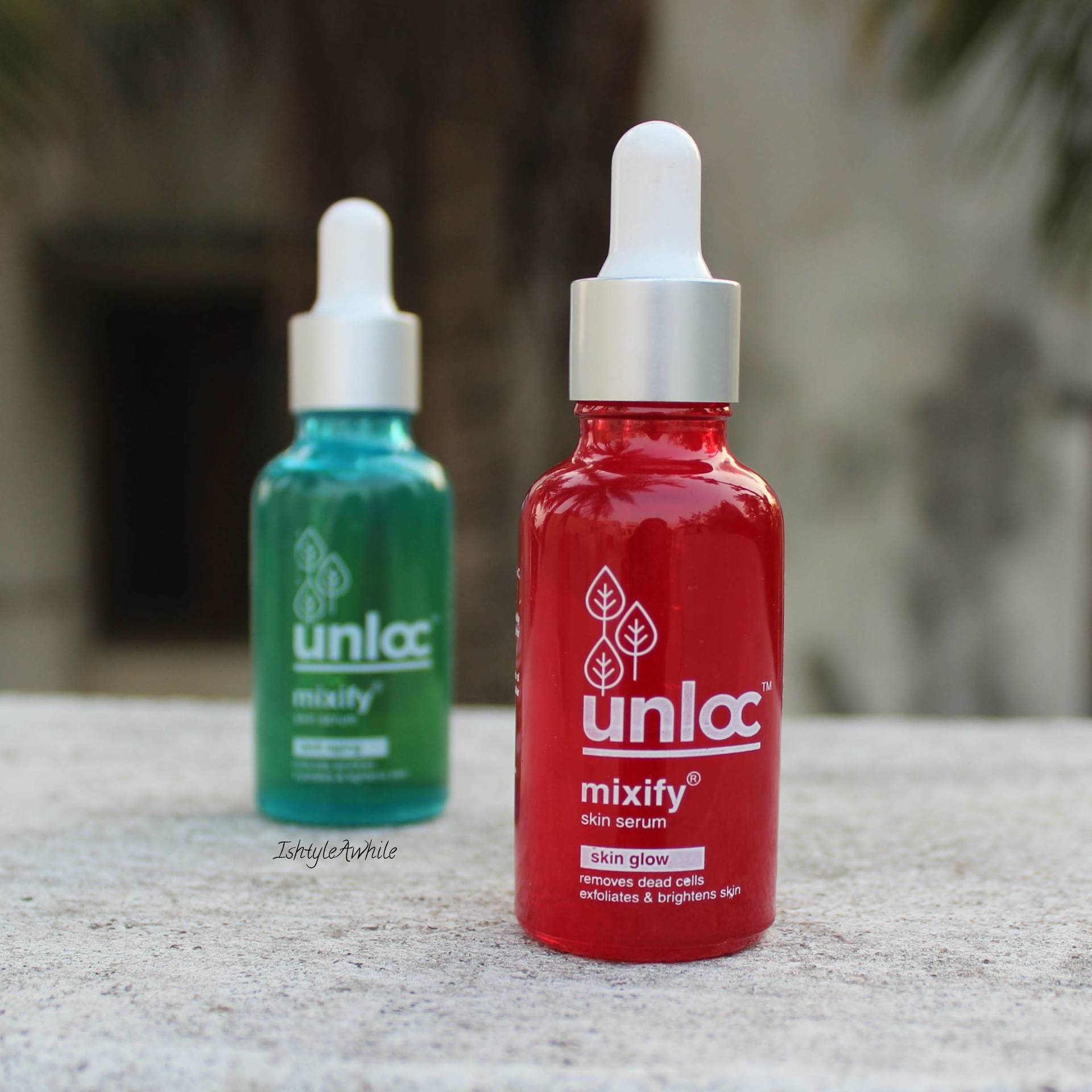 IshtyleAwhile - unloc serum_review