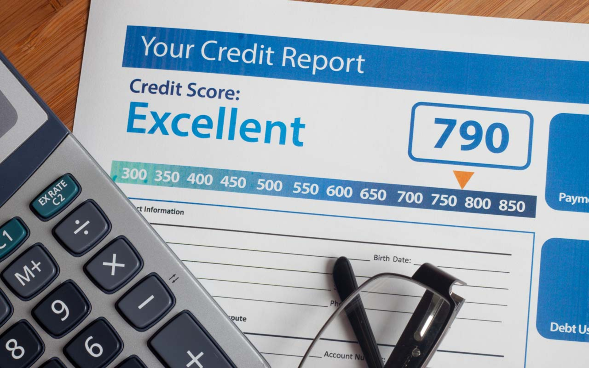 External Factors that Influence the Outcome of a Credit Report image