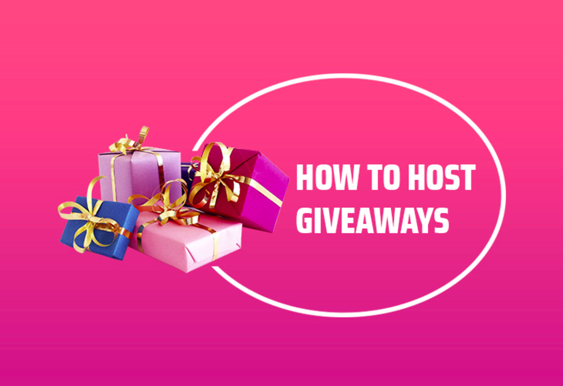 How to host giveaways: Using real examples from our Instagram image