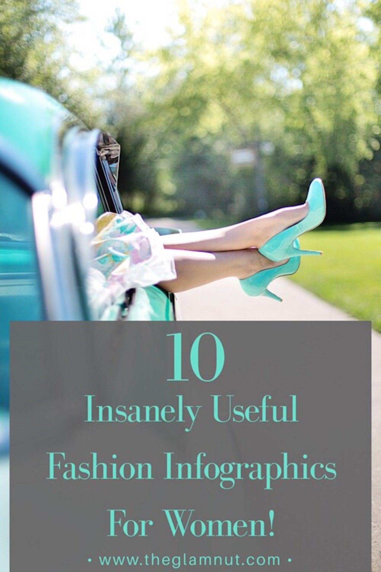 10 Insanely Useful Fashion Infographics For Women! image