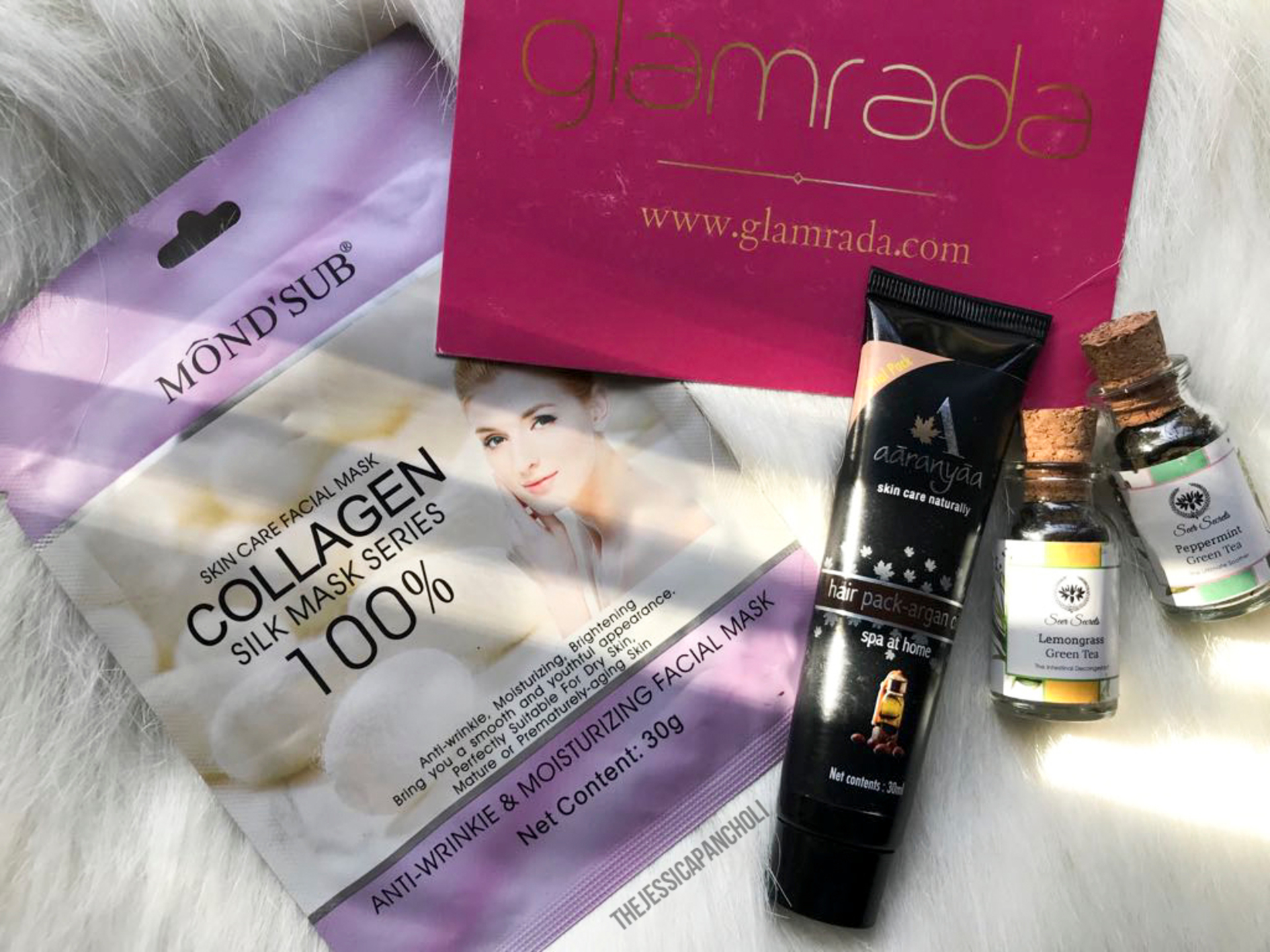 Glamrada March Trial Box Review image