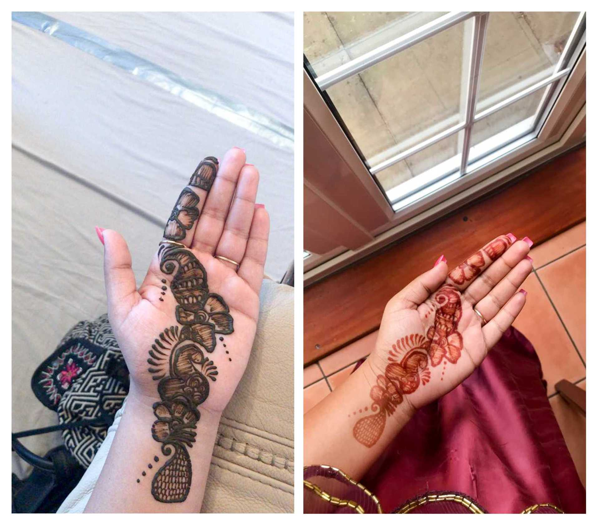 The Jessica Pancholi - mehndi