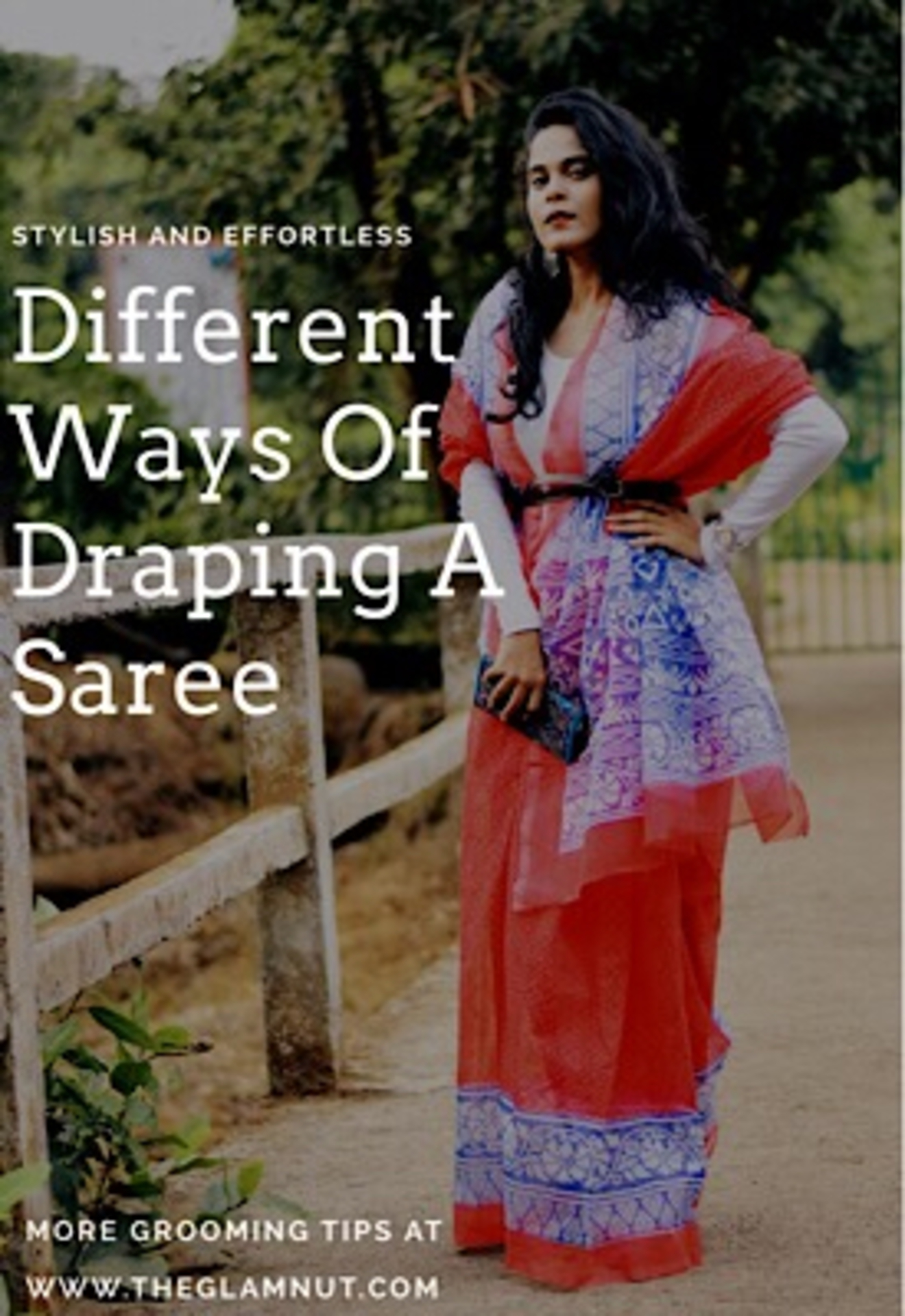 #SareeSwag - Different ways of draping a Saree Ft. Unnati Silks image