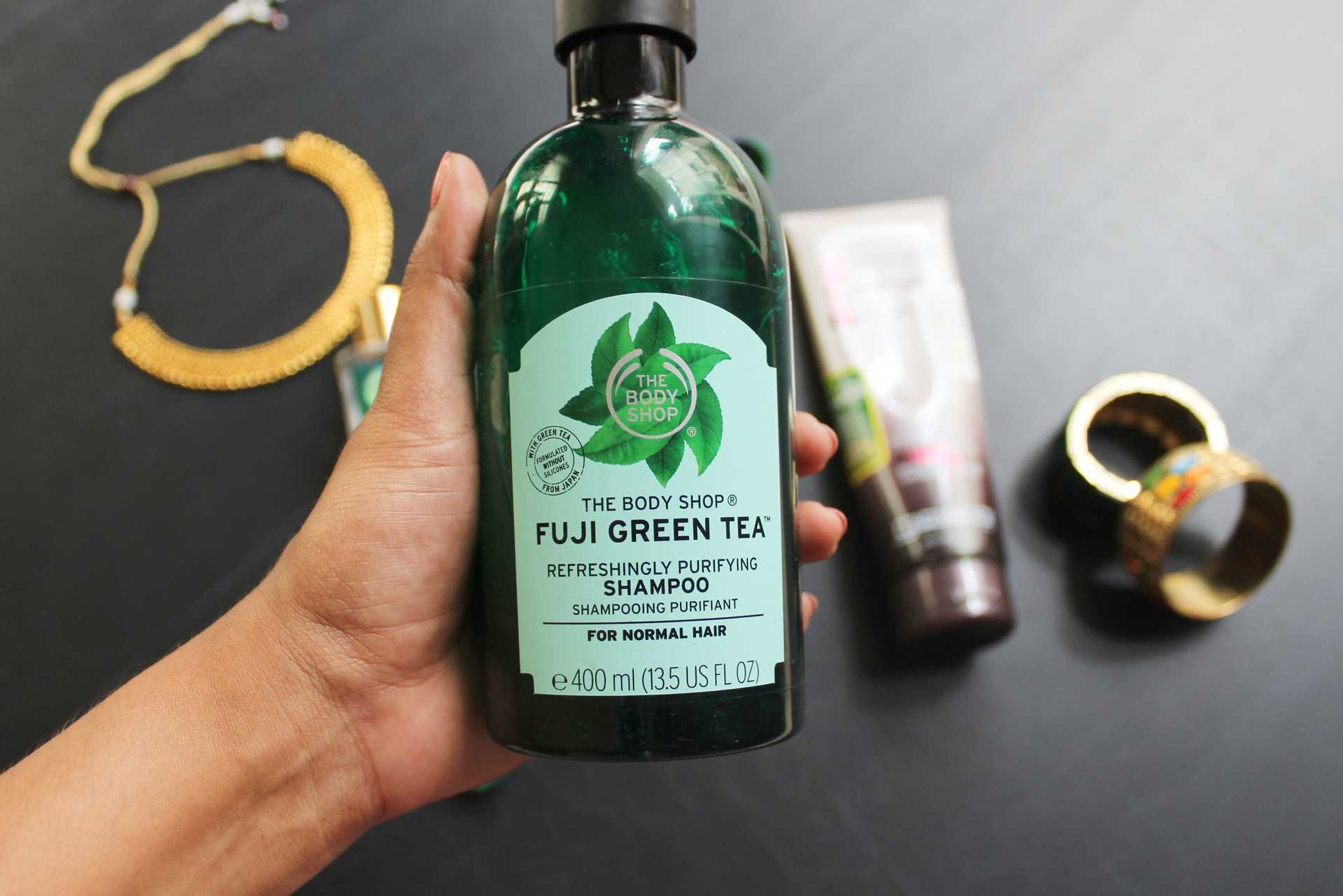 IshtyleAwhile - TBS Fuji Green Tea Shampoo review