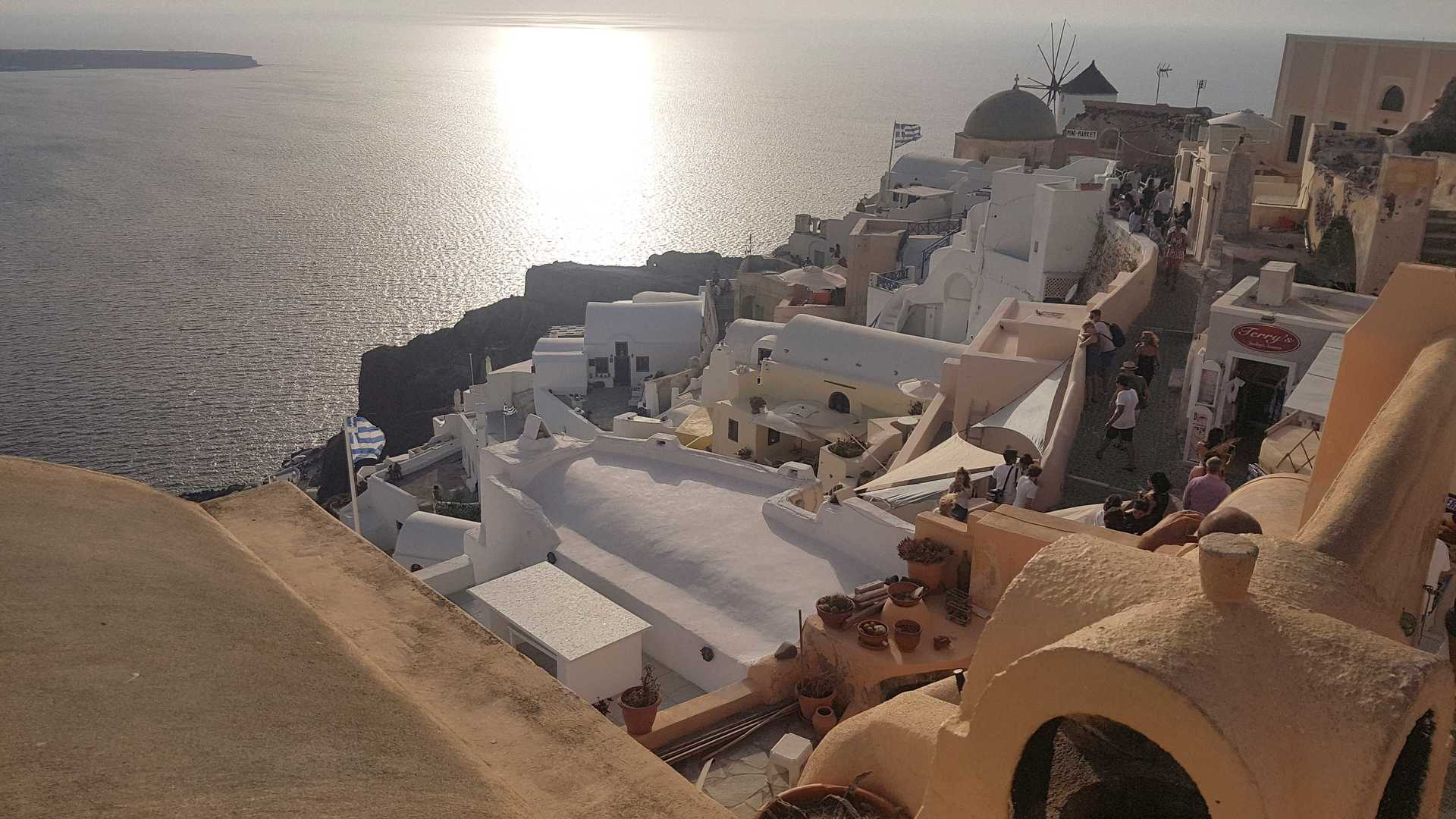 Europe Trip Part 3: Santorini, Greece! image