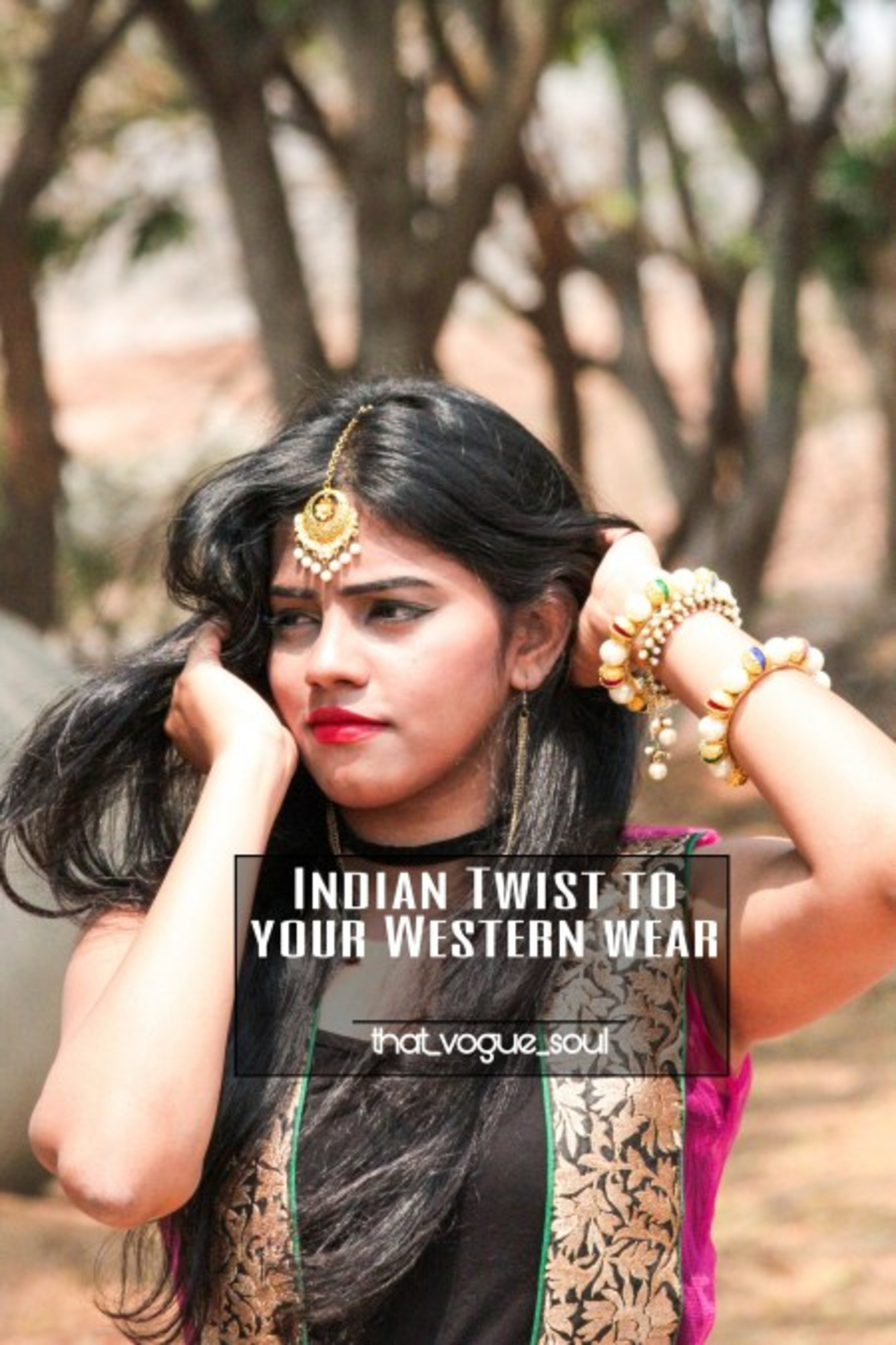 INDIAN TWIST TO YOUR WESTERN WEAR image