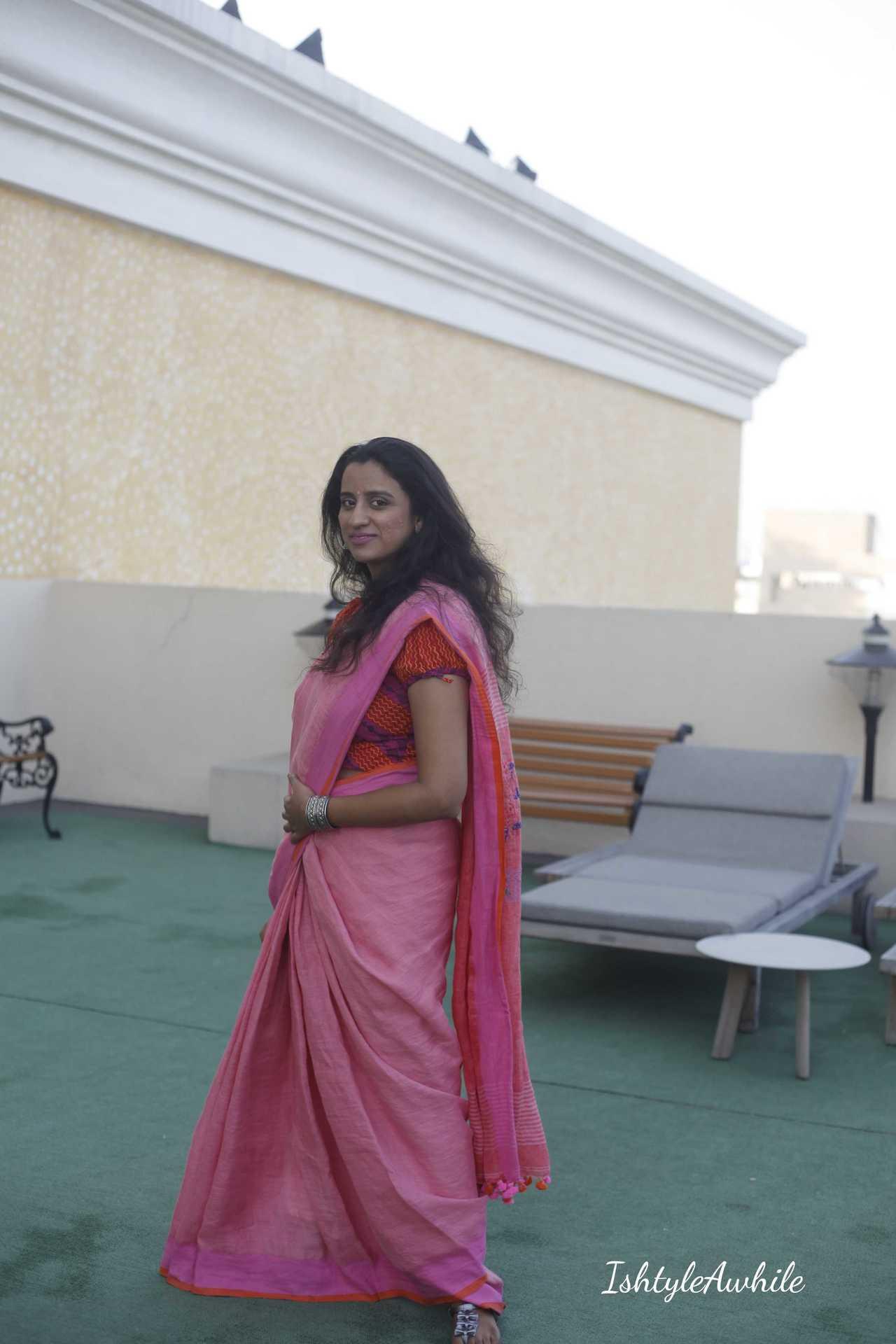 IshtyleAwhile - ekdori shop online for handloom sarees