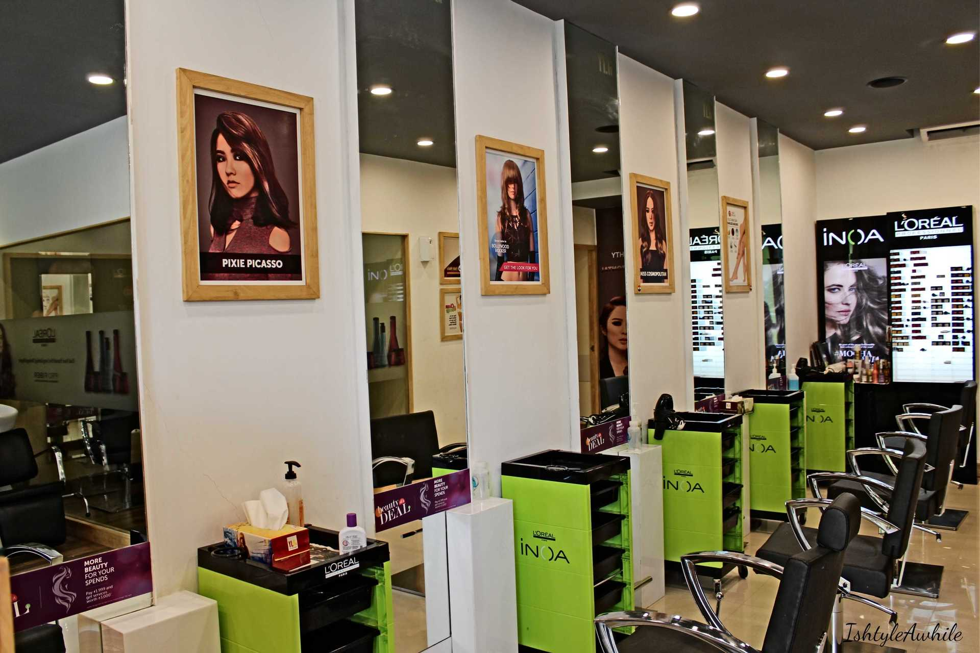 IshtyleAwhile - YLG salon at adyar review