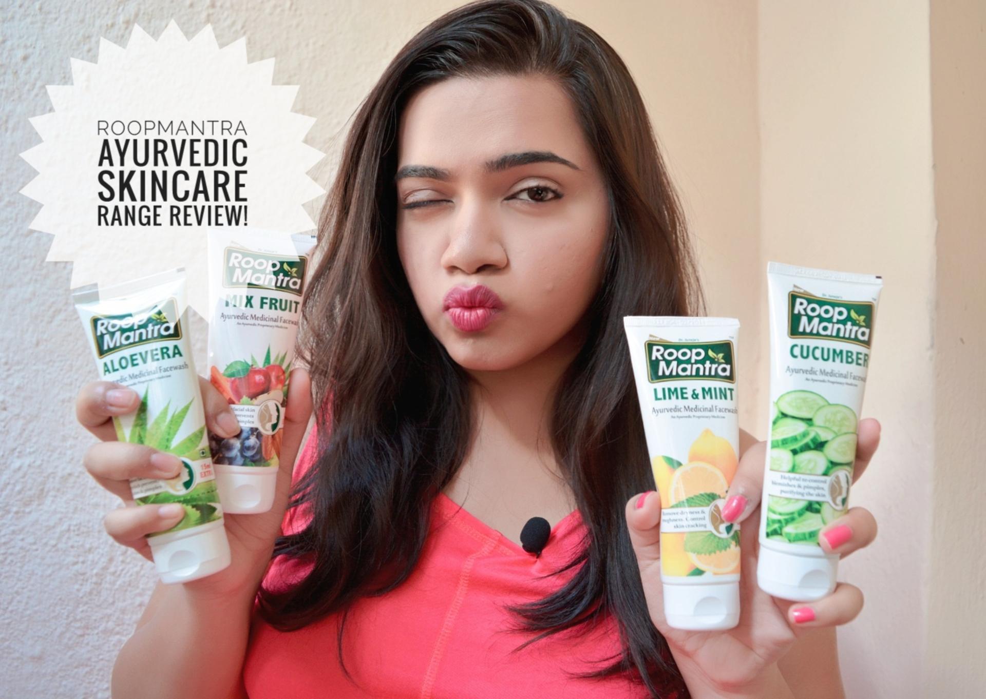 Roop Mantra Ayurvedic Skincare Range Review image