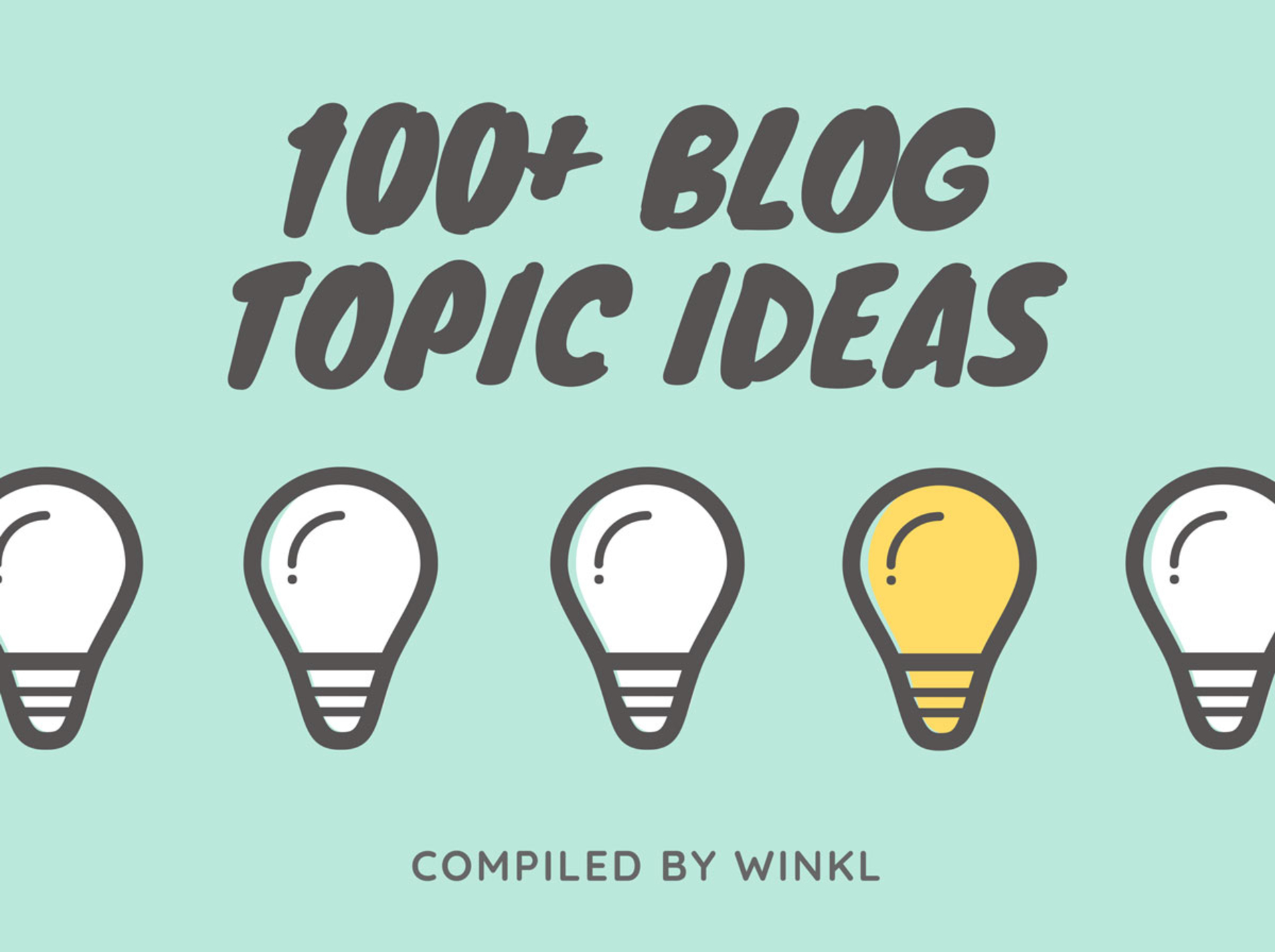 100+ Blog Topic Ideas image