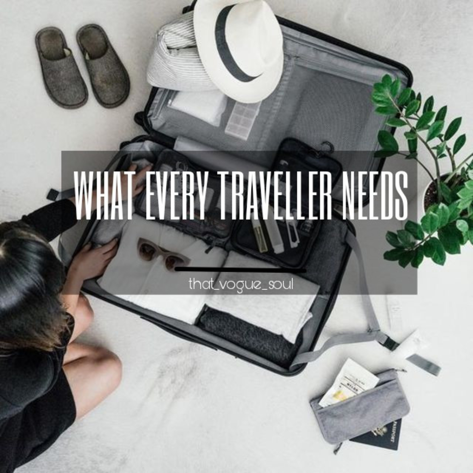 MUST HAVE TRAVEL ESSENTIALS image