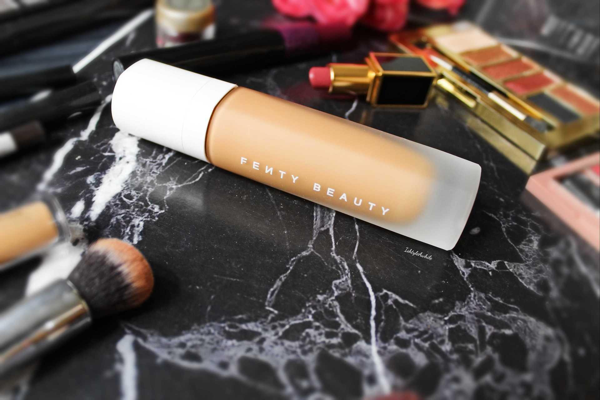 IshtyleAwhile - Fenty beauty foundation chennai beauty blogger