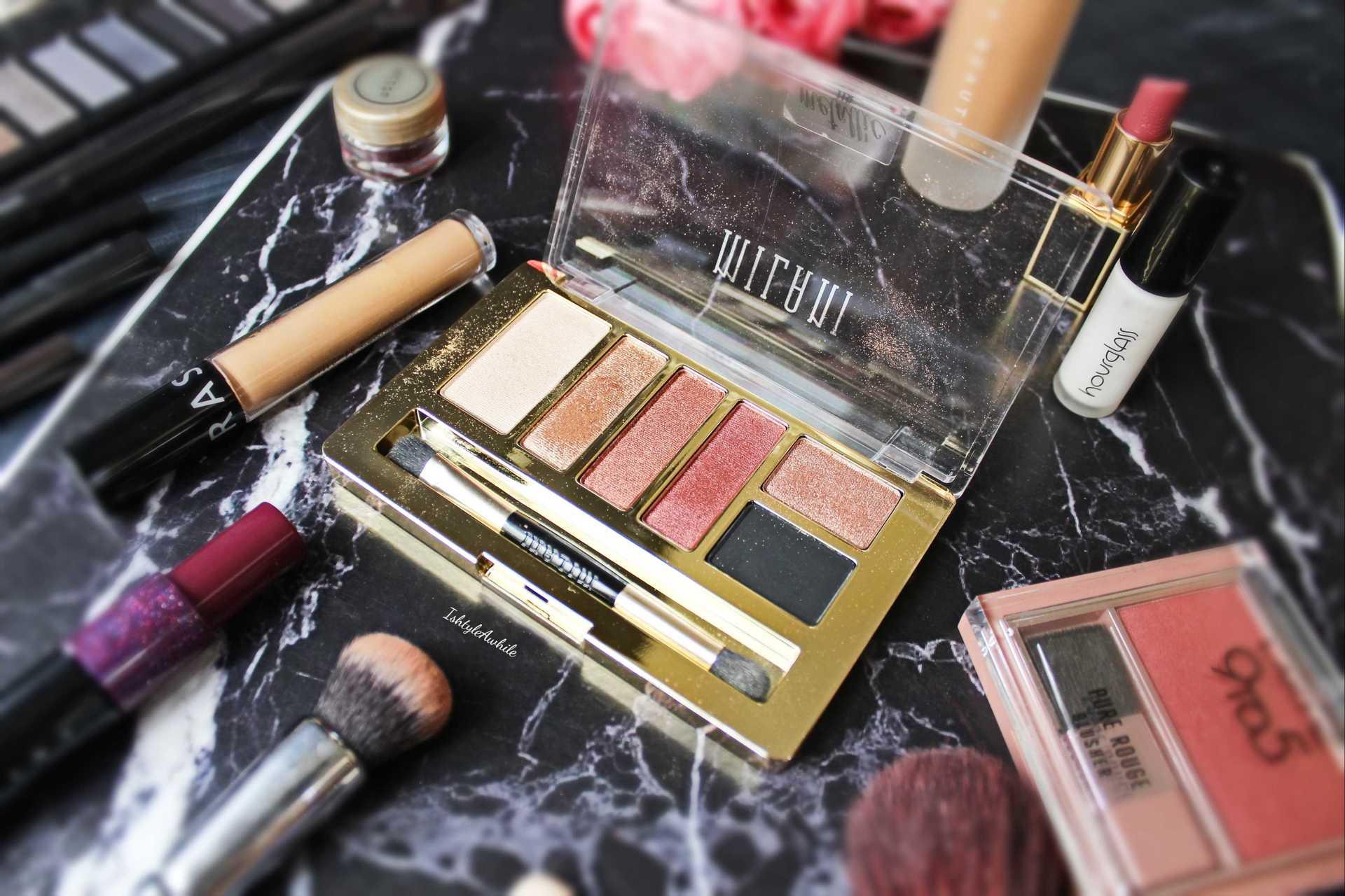 IshtyleAwhile - Milani Metallic eyeshadow chennai beauty blogger