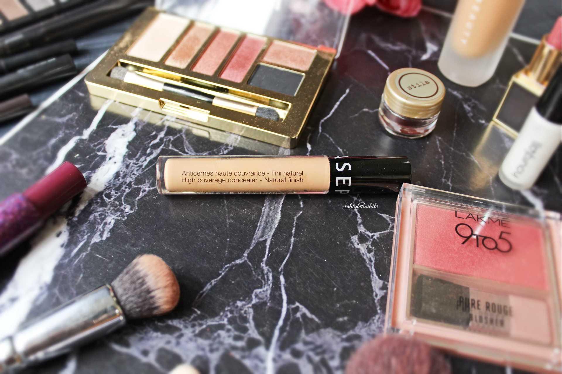IshtyleAwhile - Sephora high coverage concealer chennai beauty blogger