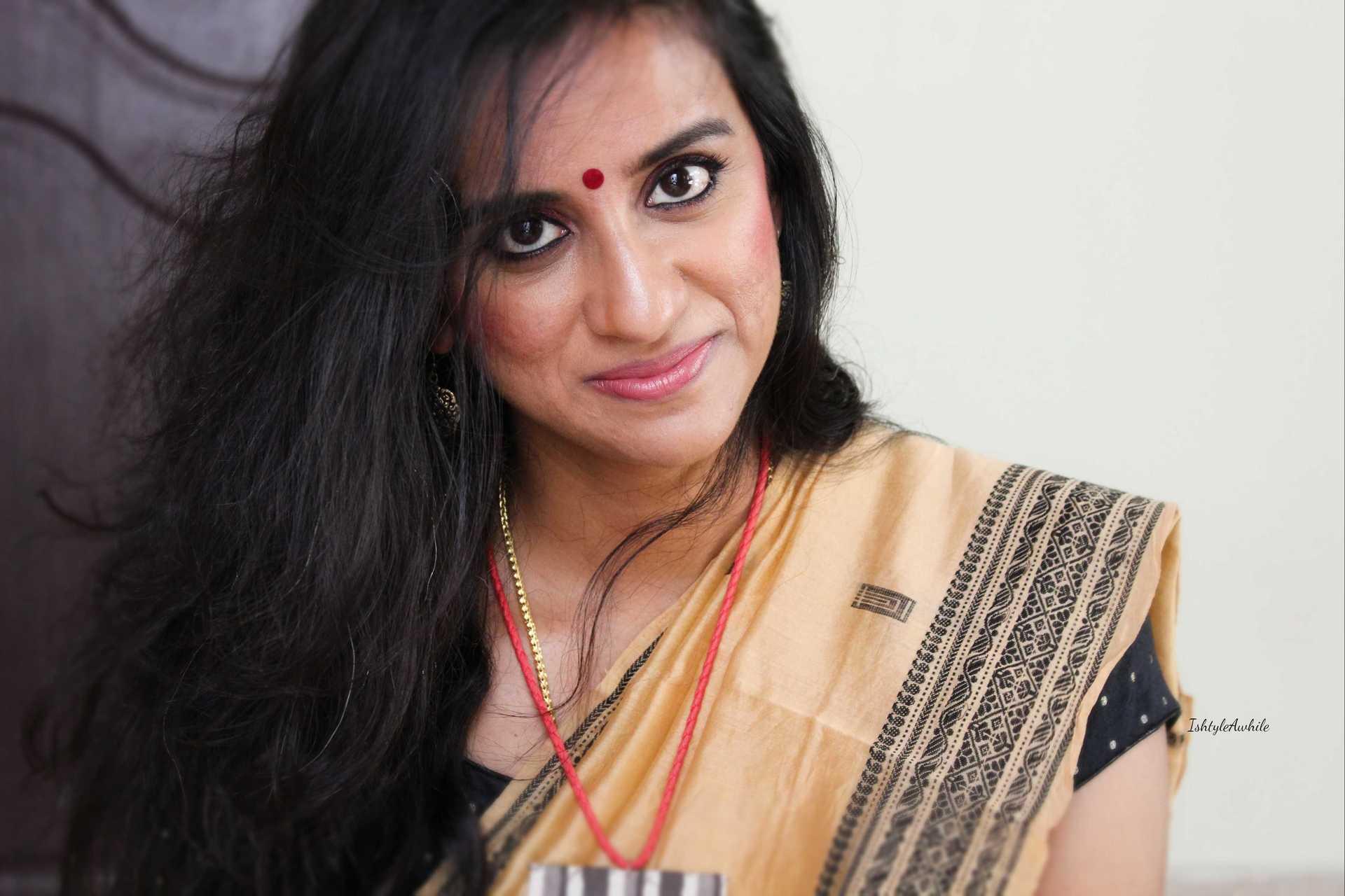 IshtyleAwhile - burgandy eye makeup chennai beauty blogger