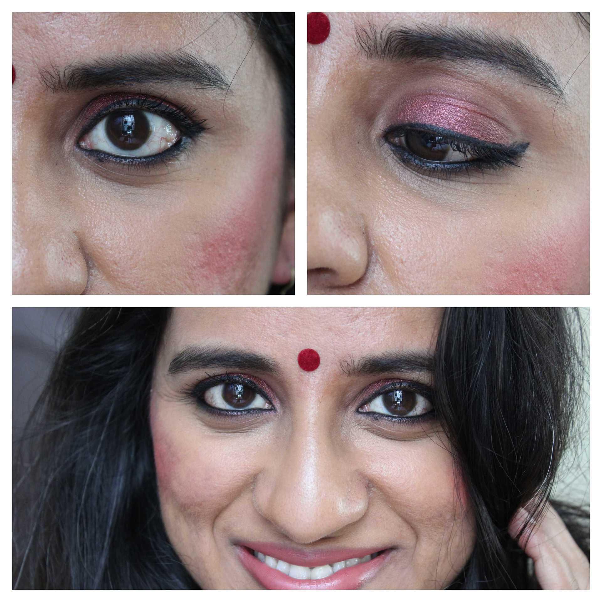 IshtyleAwhile - burgandy makeup_look Chennai_beauty blogger