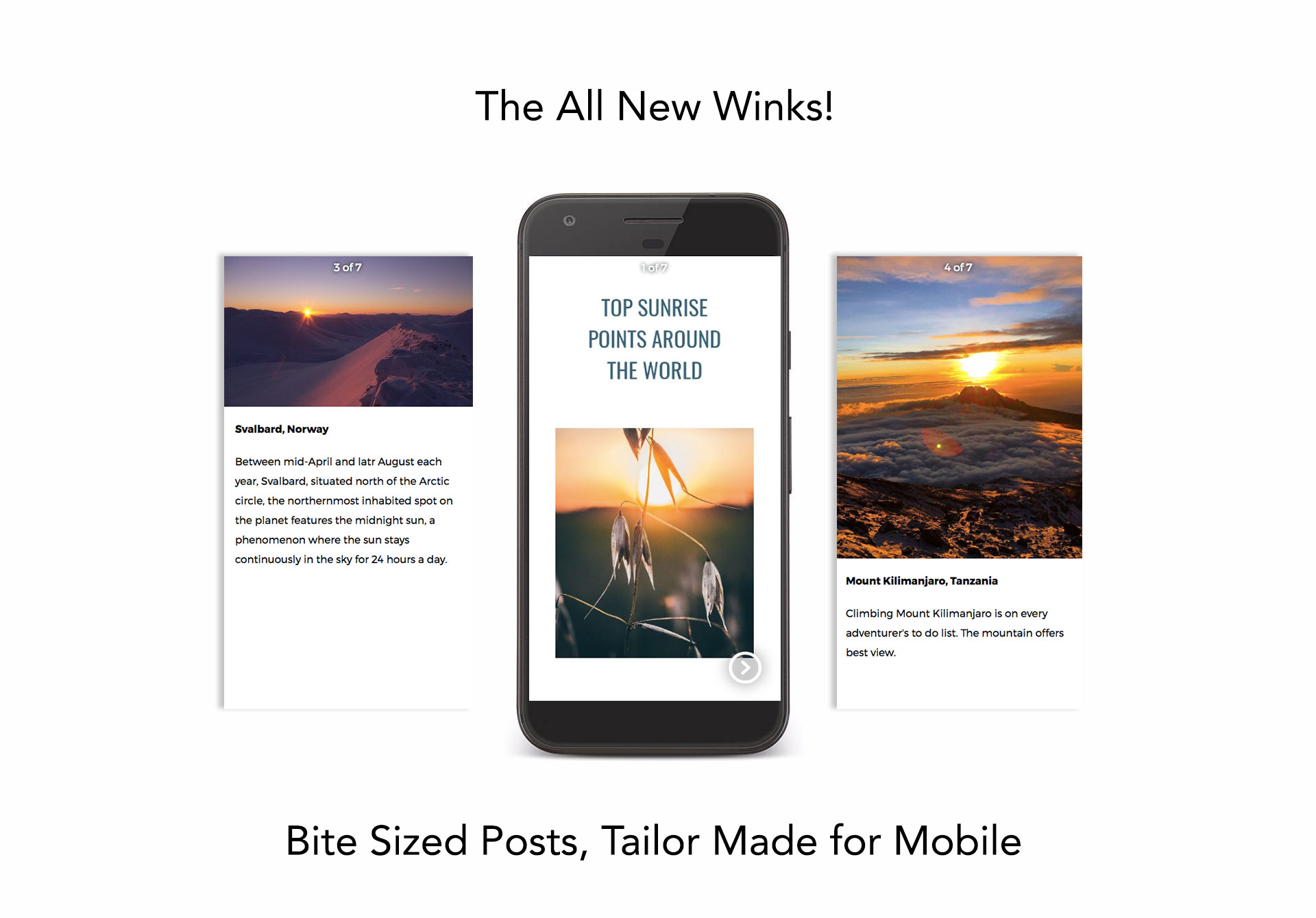Re-Defining Blogging Through Winks image