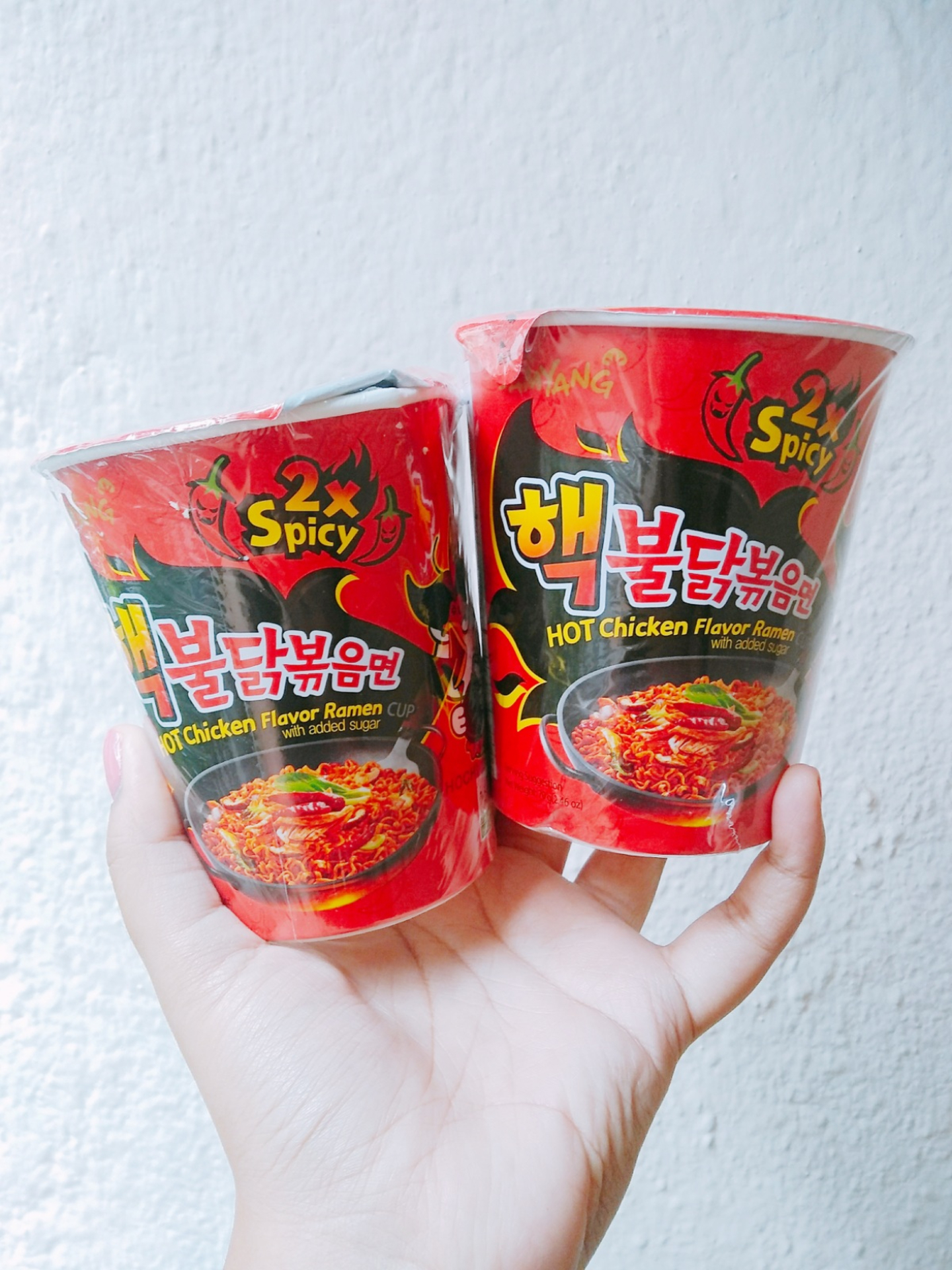 Spicy Fire Ramen Noddles Challenge + Review! image