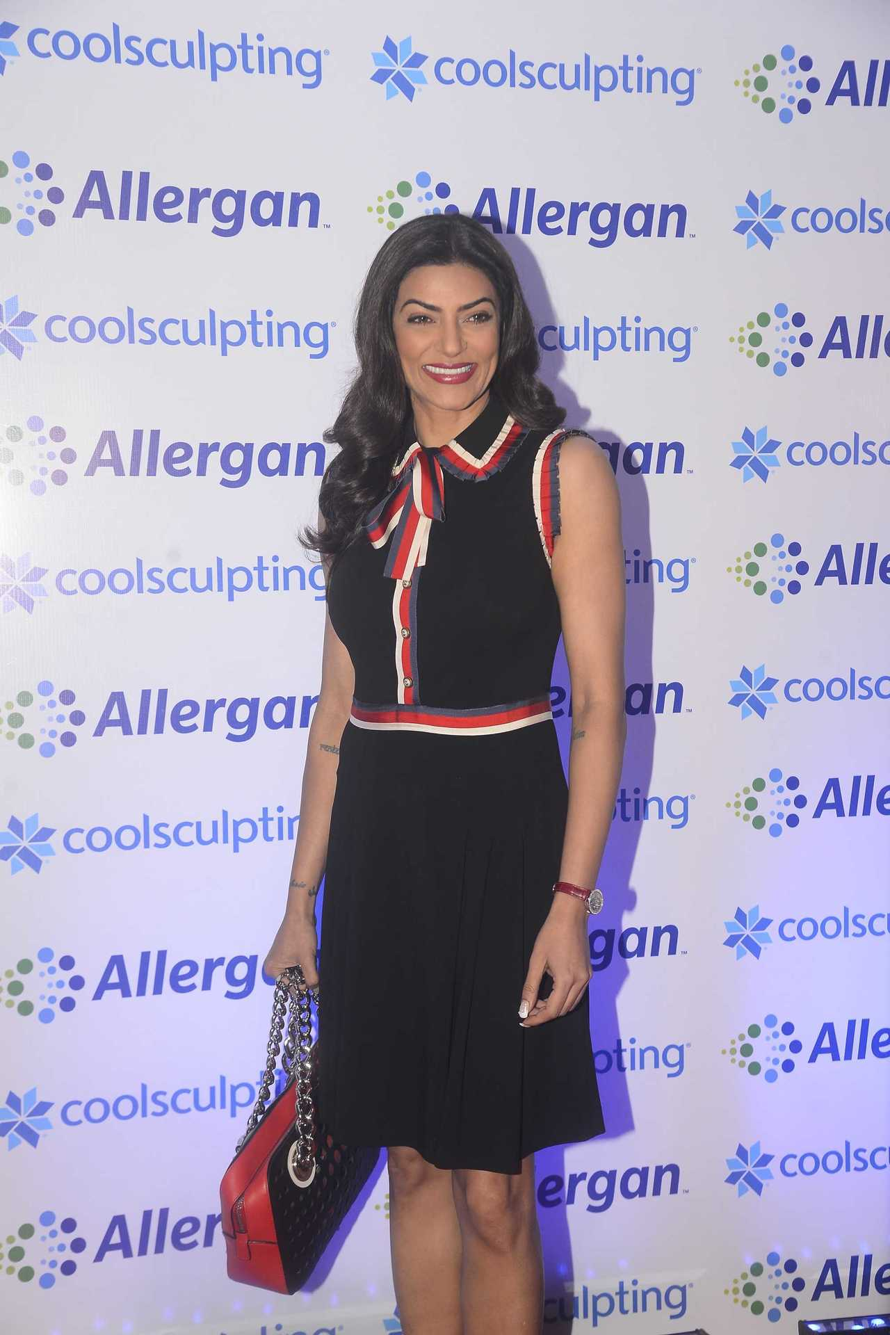 itsmonishamehta - Sushmita Sen at the CoolSculpting event in Mumbai